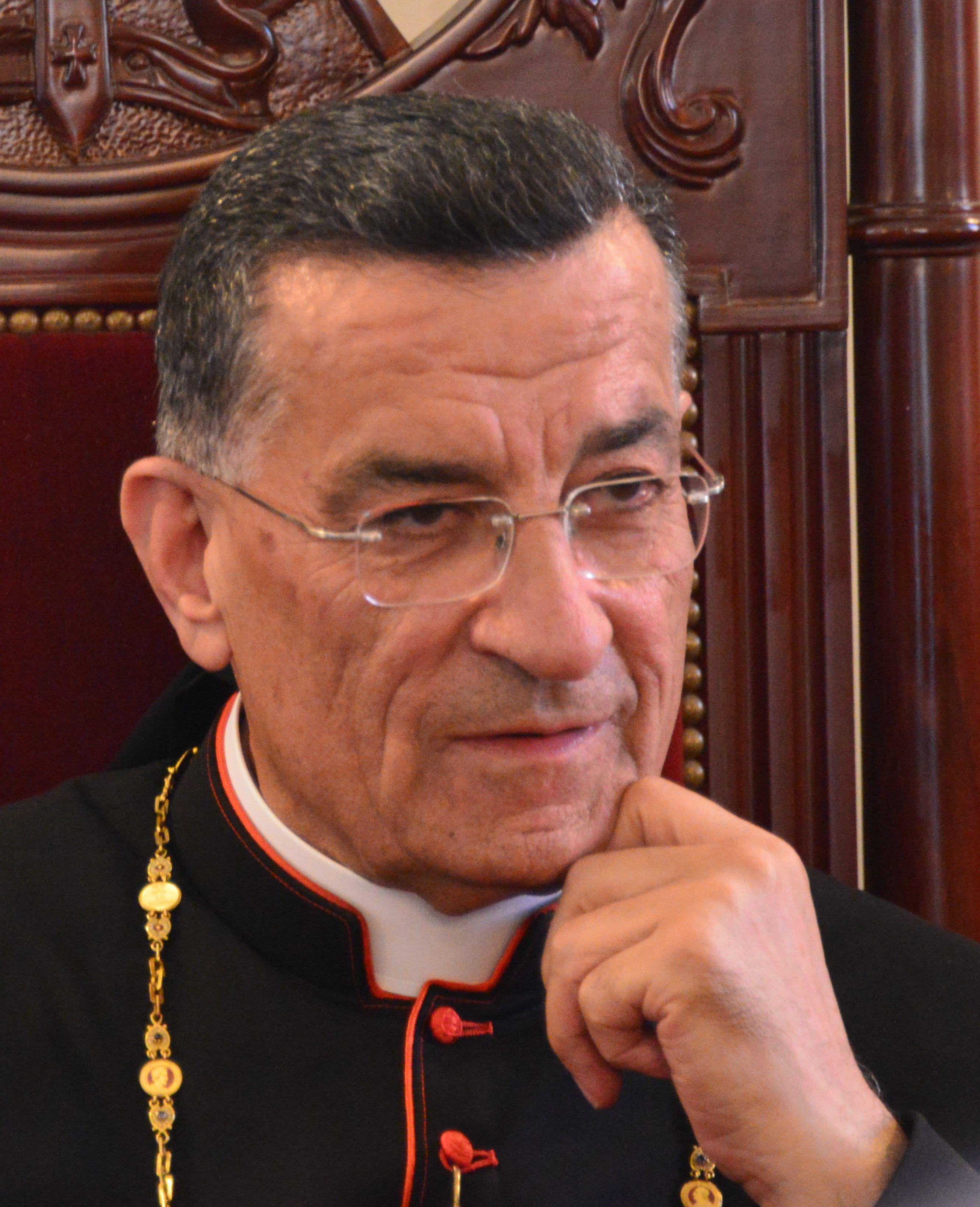 Cardenal maronita Béchara Boutros Raï
