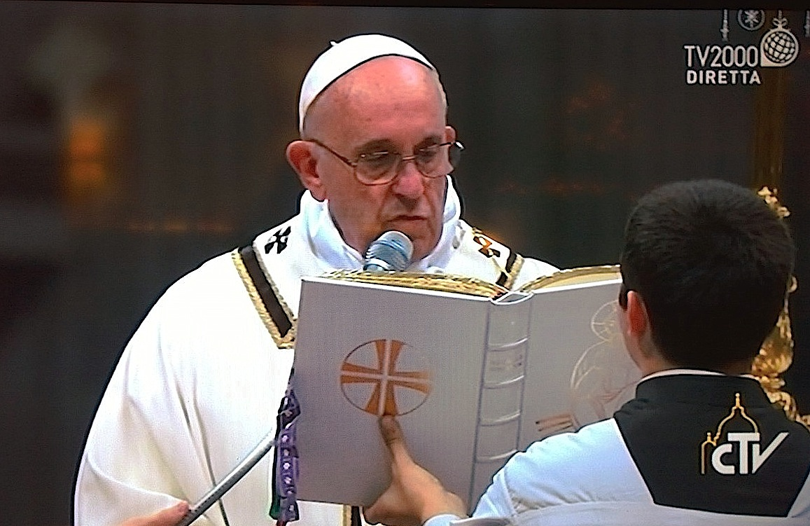 Pope Francis in the Holy Mass of Noel (provvisoria)