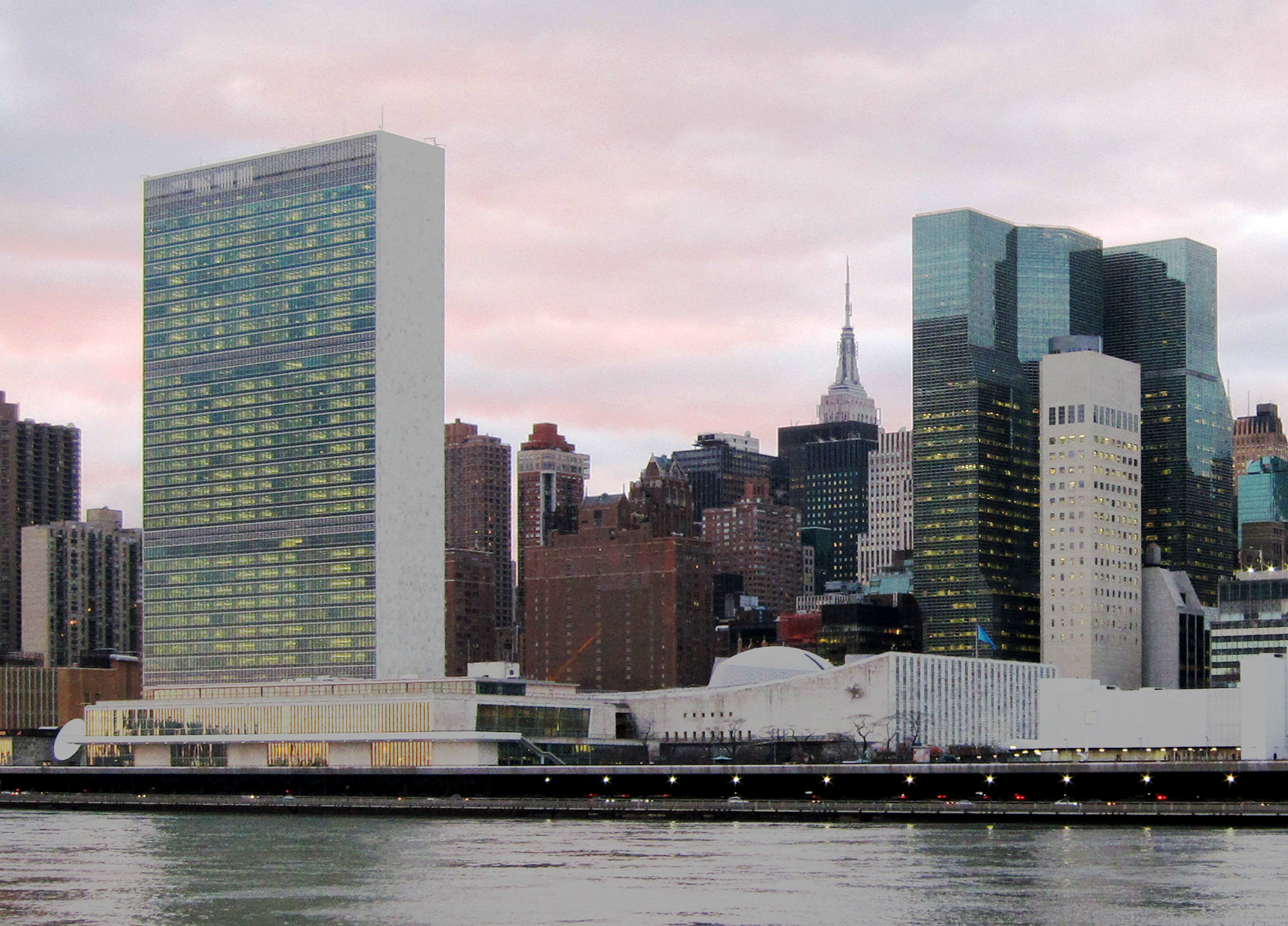 United Nations Headquarters in New York City