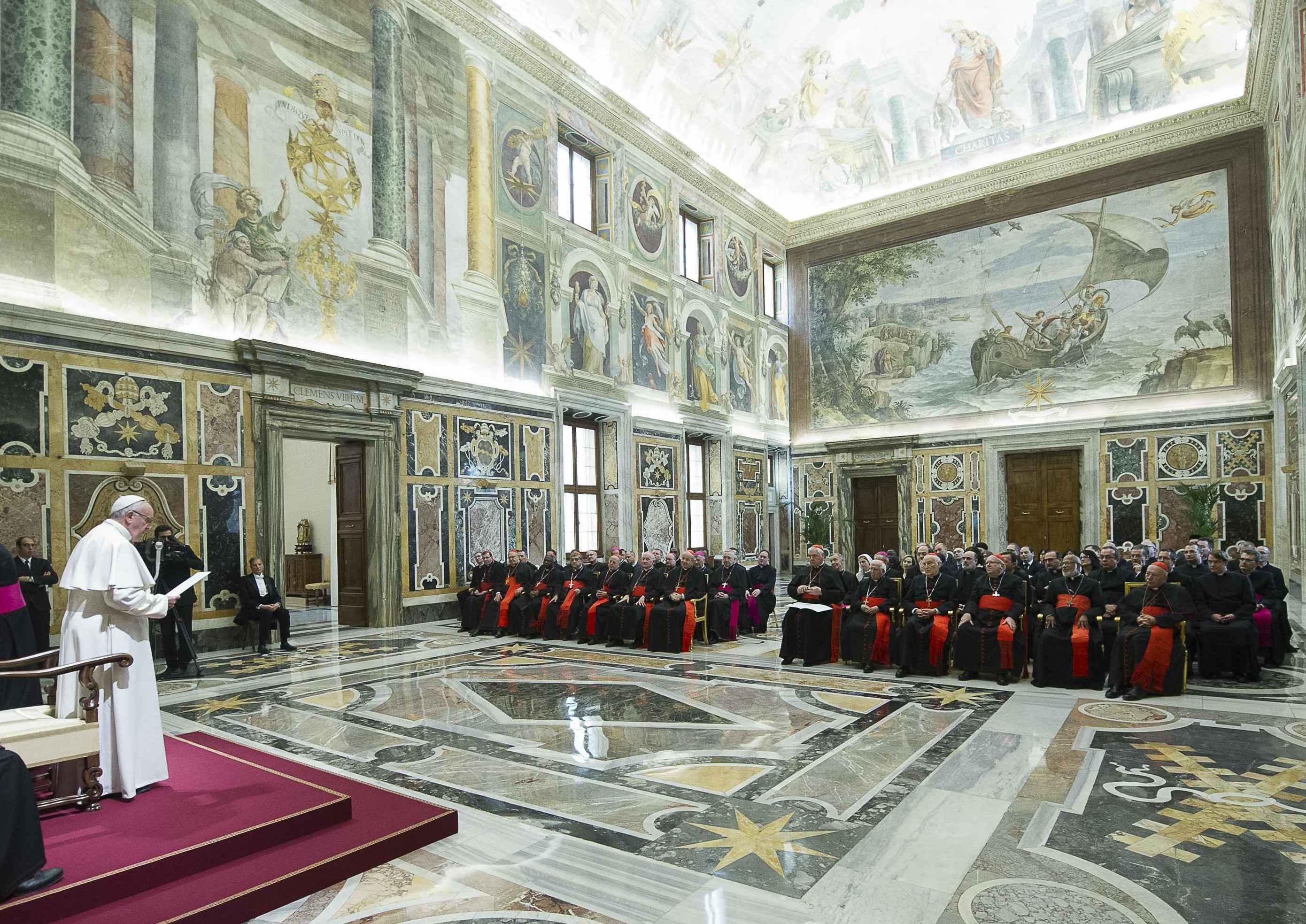 El Papa a la Congregación para la Doctrina de la Fe