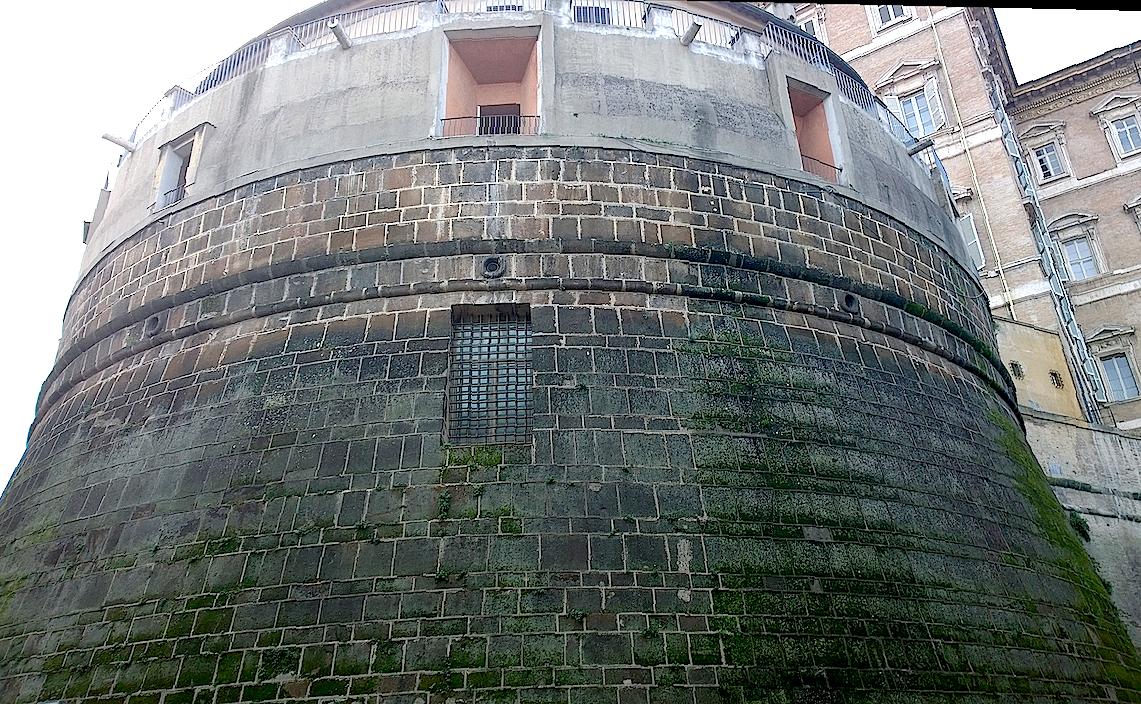 La sede del IOR en la Ciudad del Vaticano