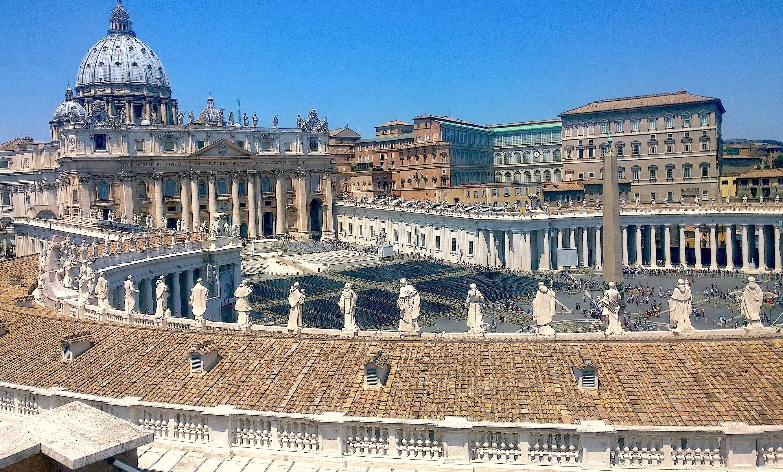 El Vaticano desde la columnata de San Pedro (Foto ZENIT cc)