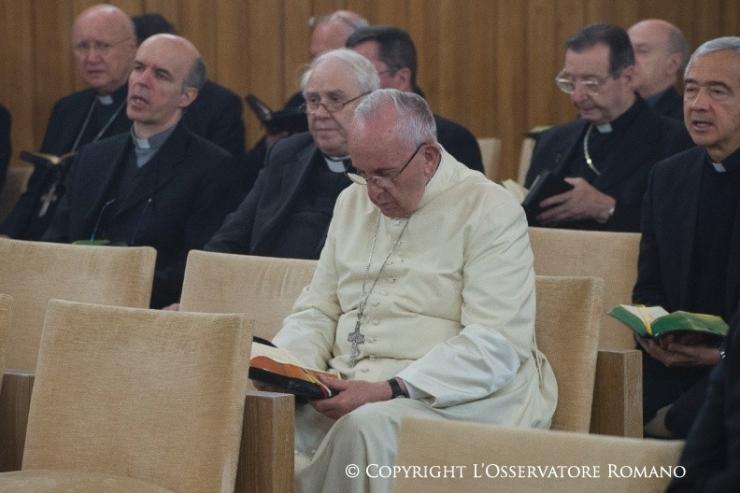 Ejercicios Espirituales del Papa y la Curia - Osservatore Romano