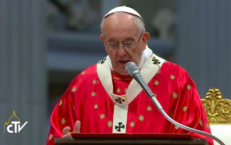 Papa Francisco misa pentecostés - CTV