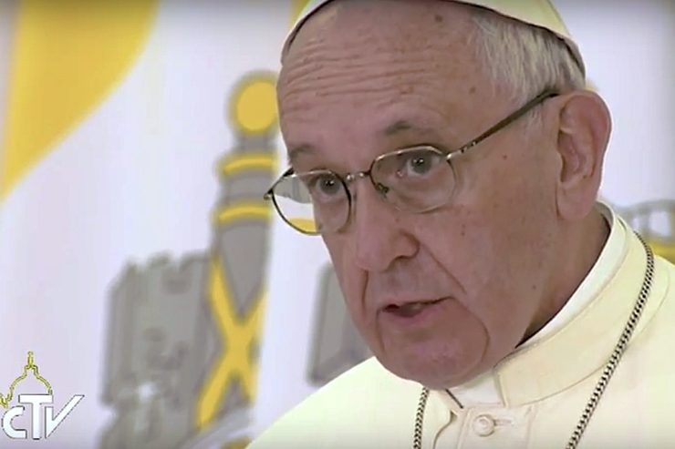 Papa Francisco. Captura CTV