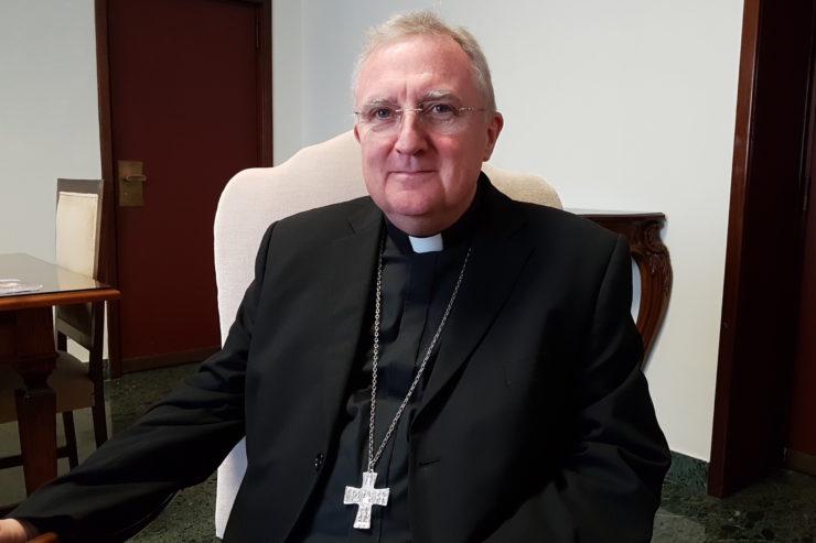 Mons. Arthur Roche en la entrevista a ZENIT
