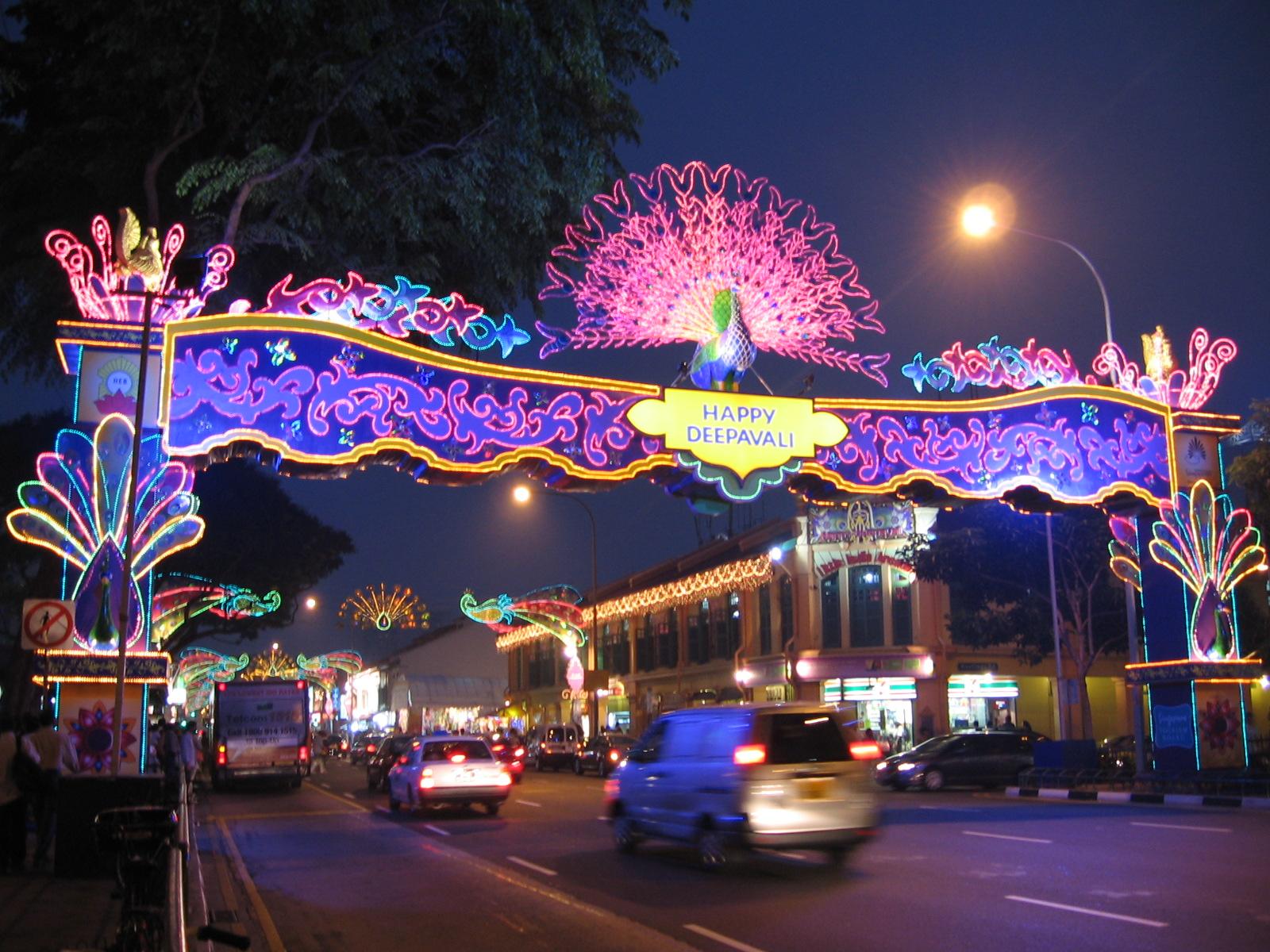 Fiesta de Diwali, Wikimedia Commons