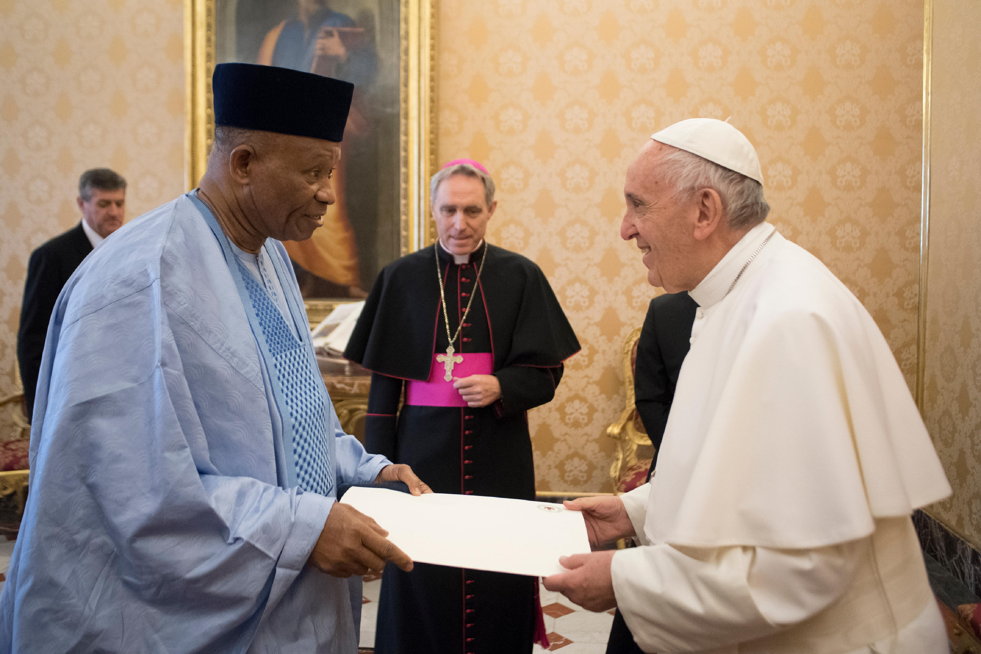 Embajador de Nigeria ante la Santa Sede © L´Osservatore Romano