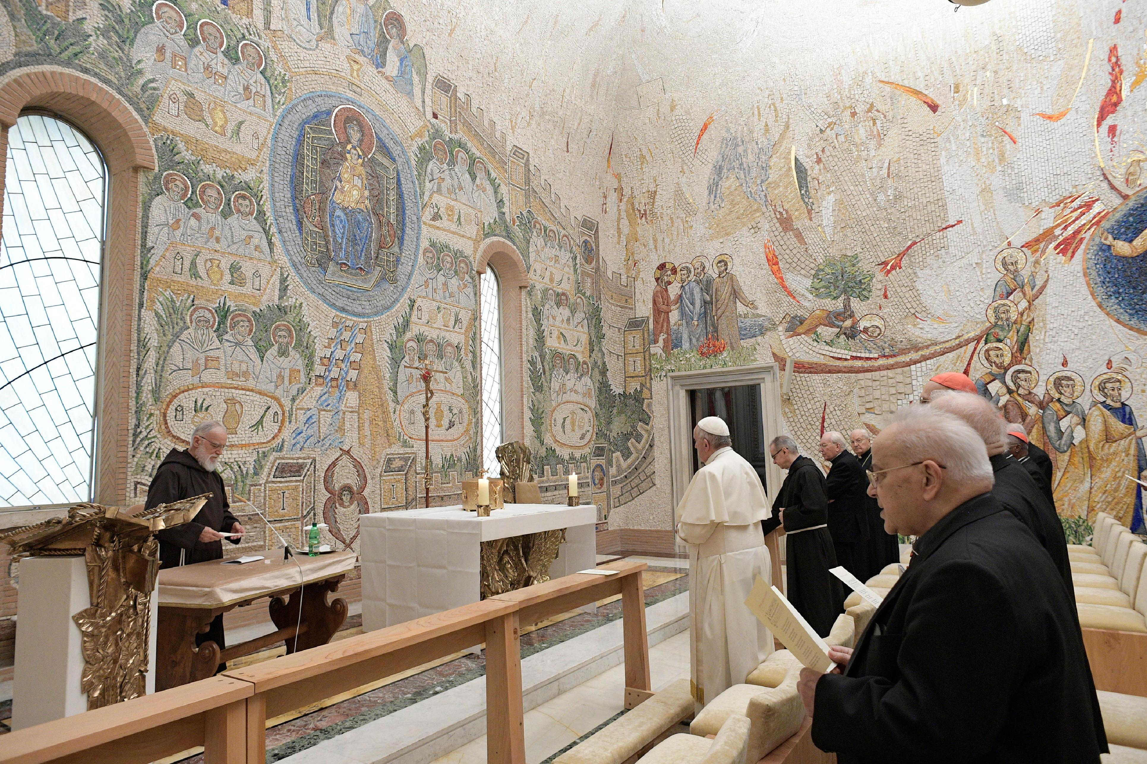 5ª predicación de Cuaresma del P. Cantalamessa © Vatican Media