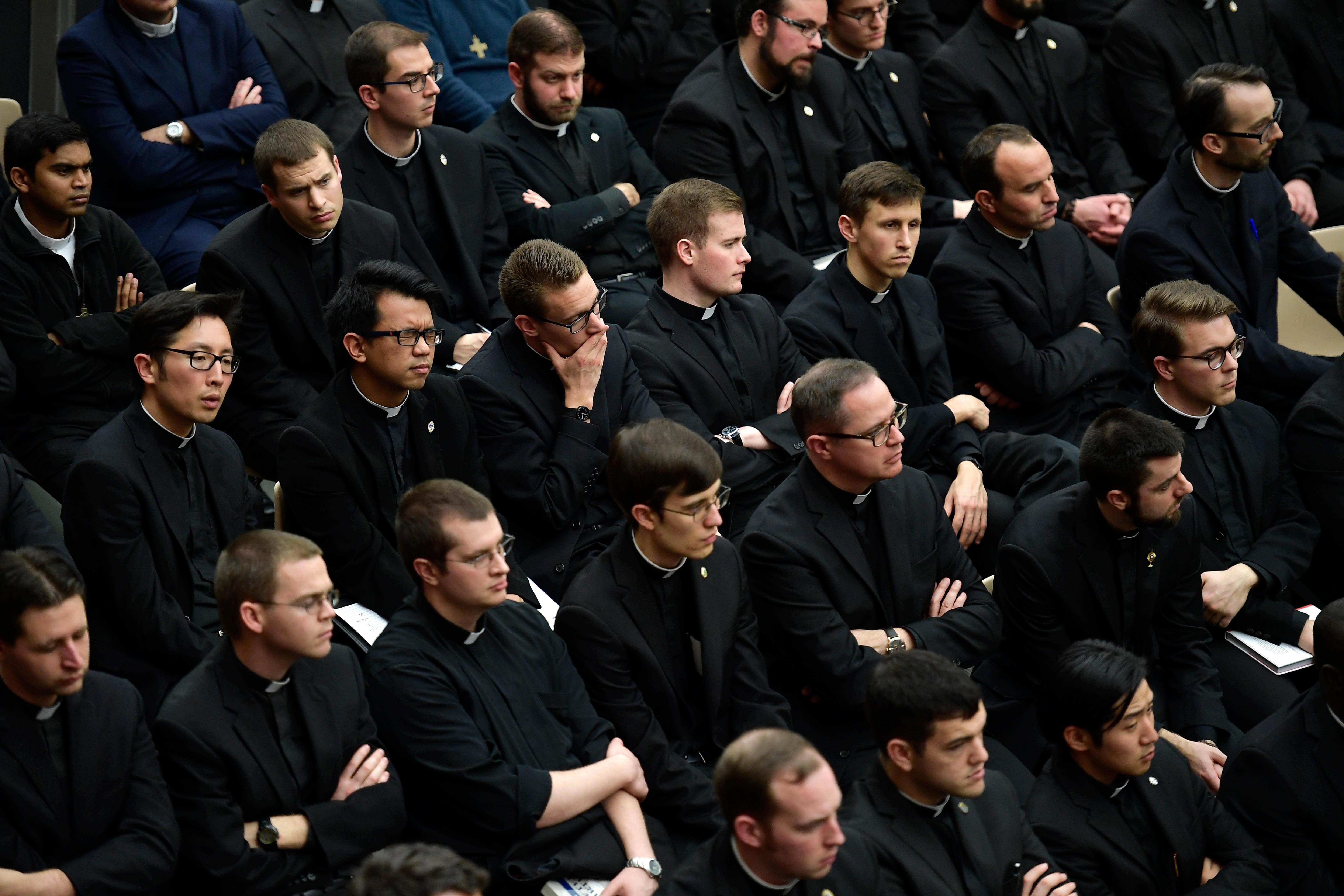 Audiencia con los estudiantes de los Colegios Pontificios de Roma © Vatican Media