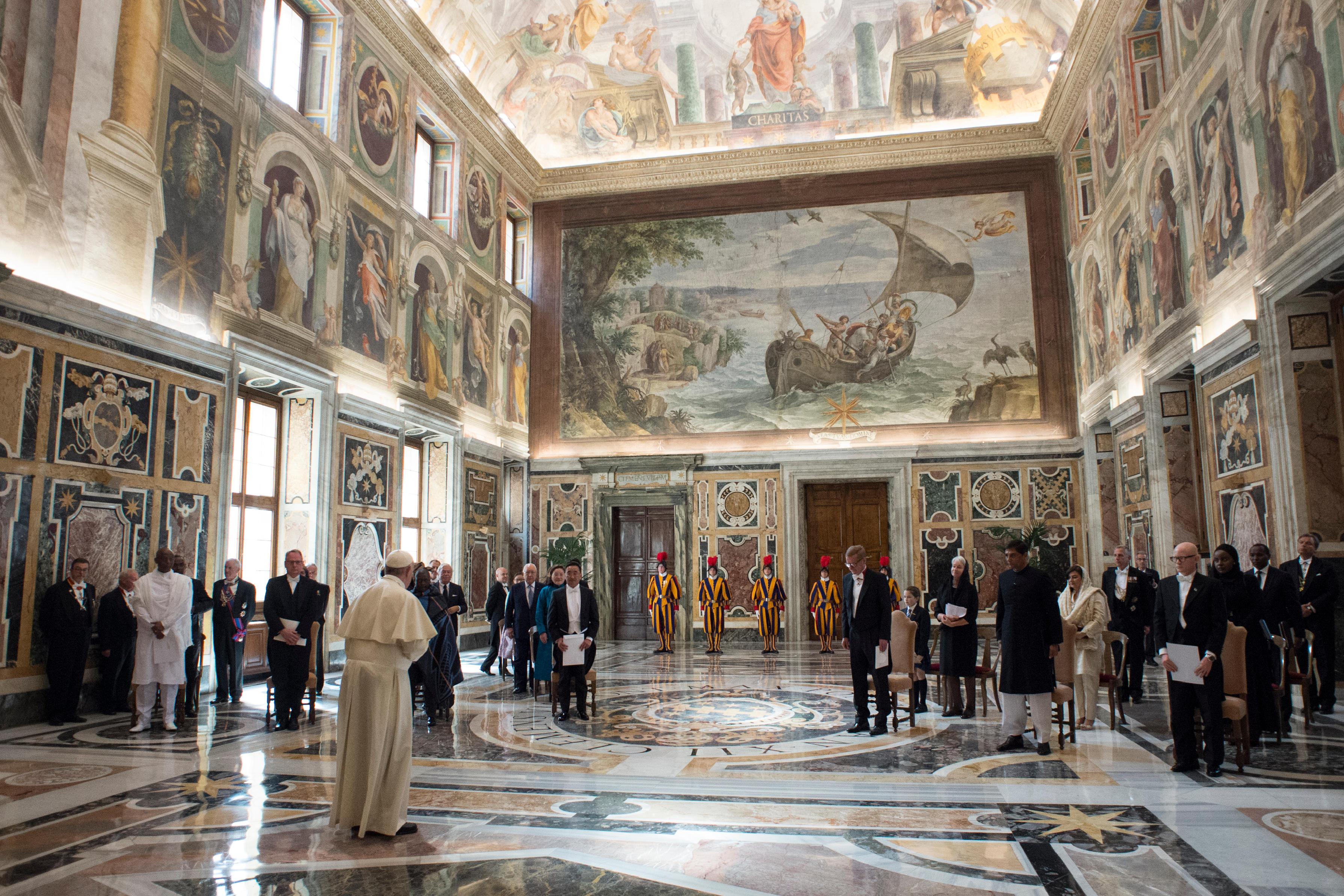 El Papa ha recibido a nueve nuevos embajadores en la Santa Sede © Vatican Media