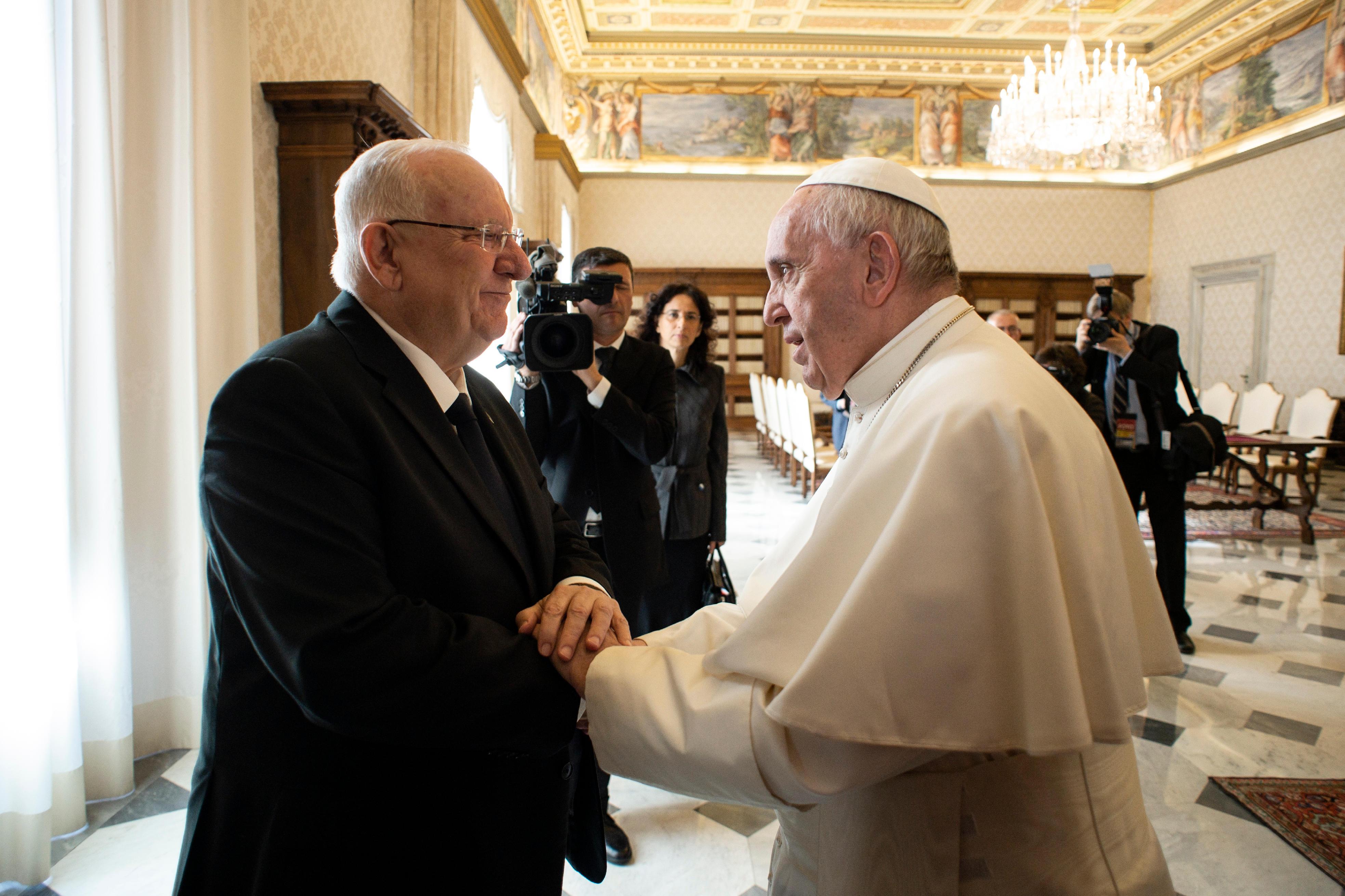 El Papa recibe a Reuven Rivlin, Presidente del Estado de Israel © Vatican Media