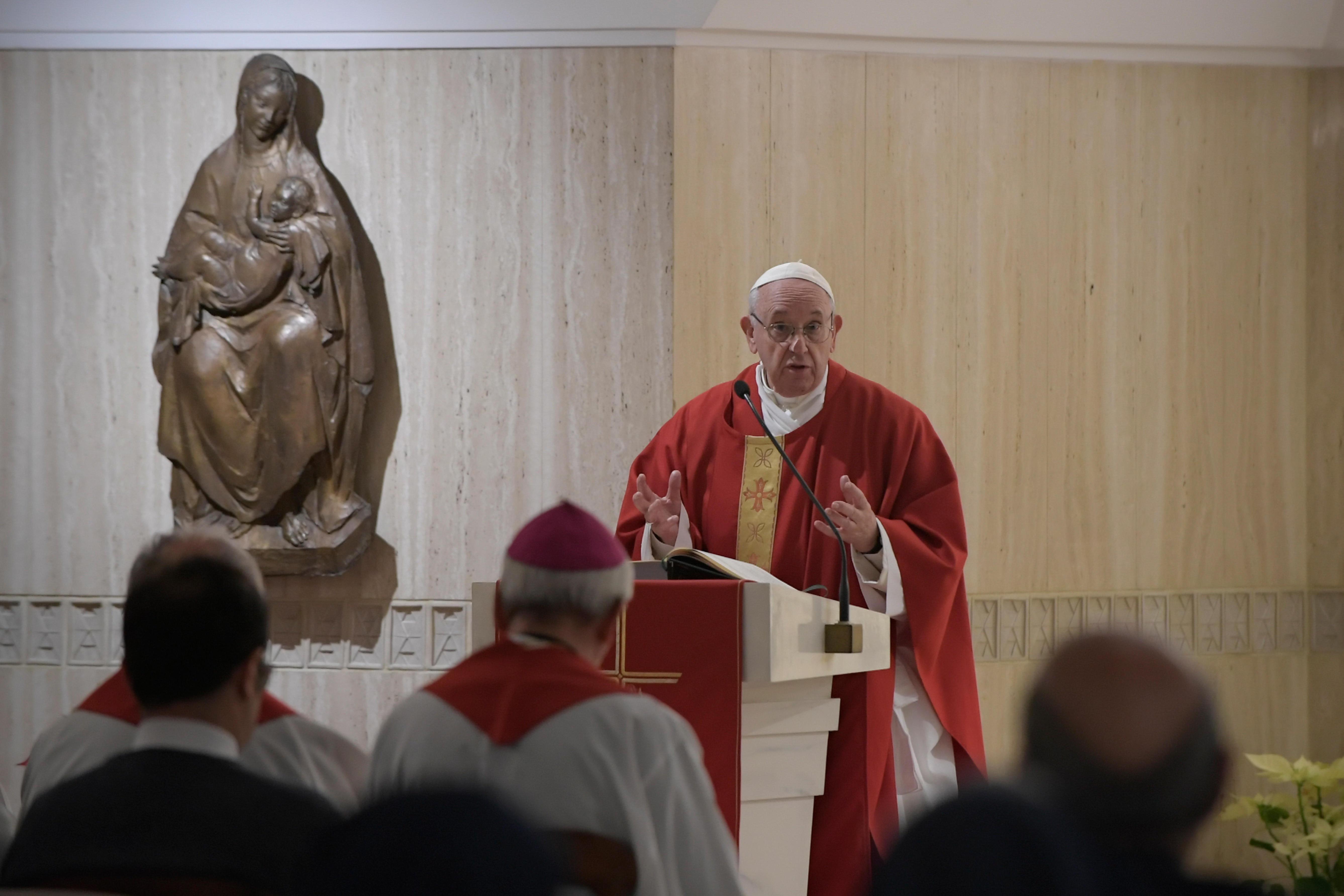 Misa en Santa Marta, 21 enero 2019 © Vatican Media