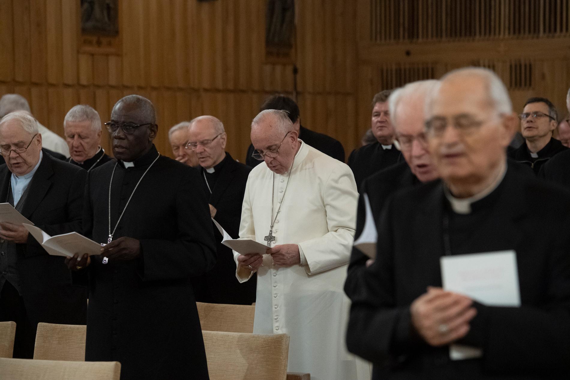 Tercera jornada del Retiro de Cuaresma © Vatican Media