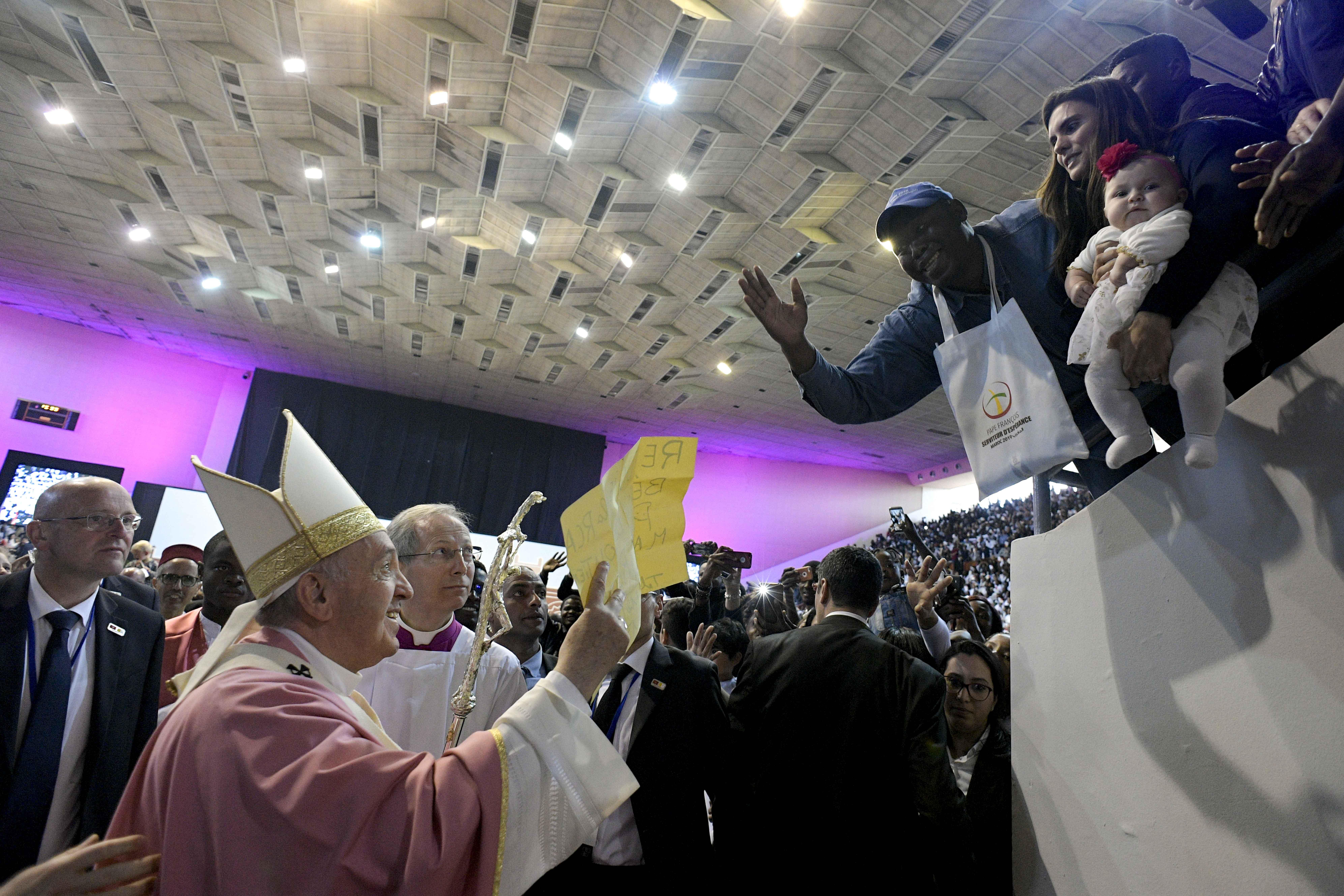 Misa del Papa Francisco en Rabat, 31 marzo 2019 © Vatican Media