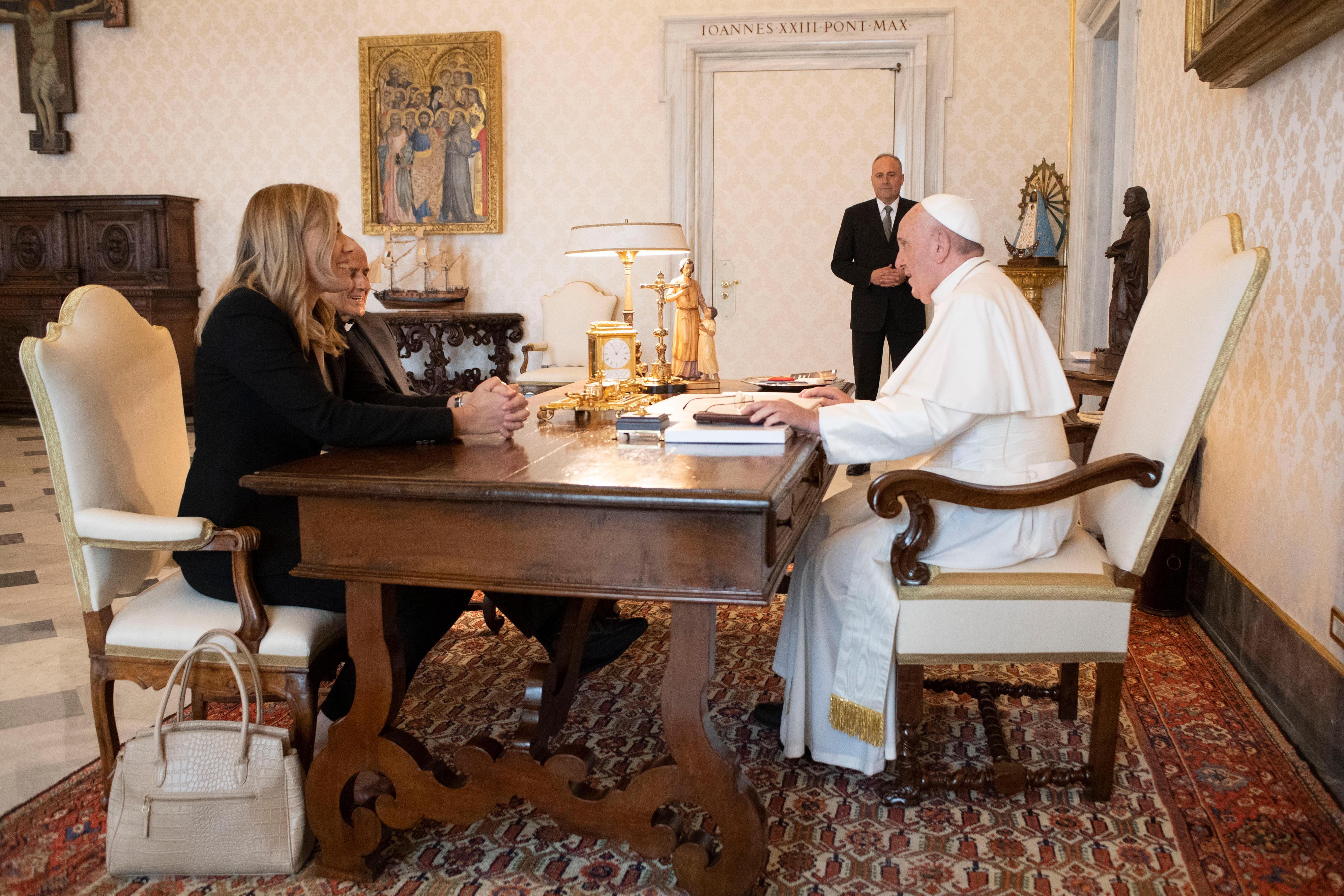 El Papa recibe a D. Julián Carrón, 19/09/2019 © Vatican Media