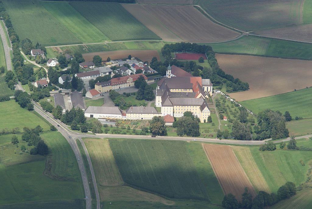 Monasterio en Medingen, donde ingreso la beata Ebner