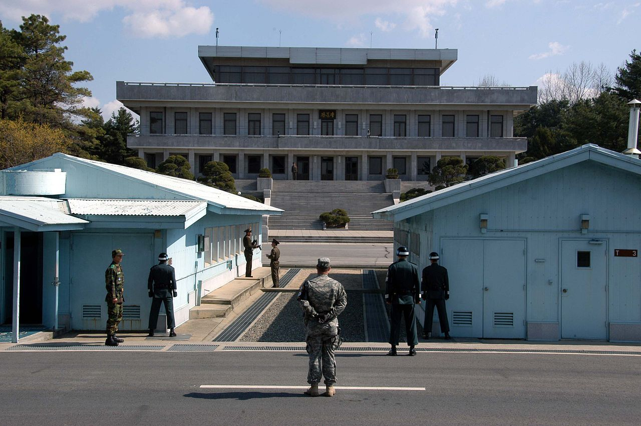 Frontera entre Corea del Sur y Corea del Norte © Wikimedia Commons