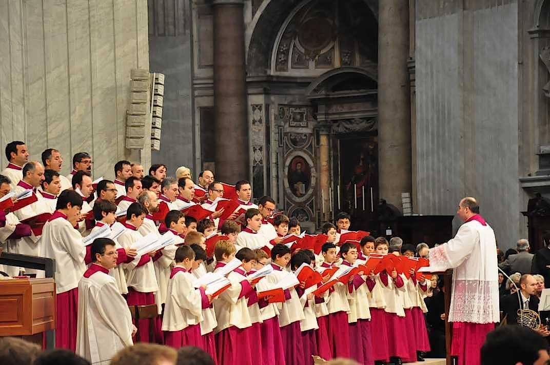 Coro de la Capilla Sixtina (Foto ZENIT cc)