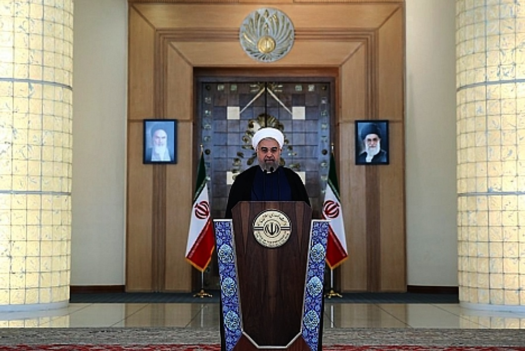 Office of the Iranian President shows the Iranian President