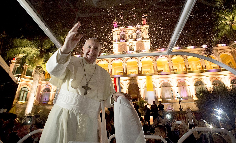 Pope Francis in Asunción del Paraguay