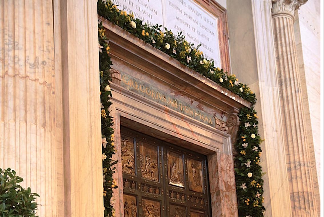 Jubilee of Mercy holy door