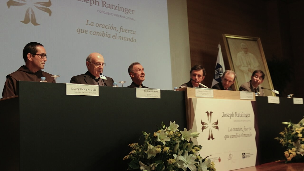 Closing Session of the 5th International Congress organized by the Joseph Ratzinger – Benedict XVI Vatican Foundation