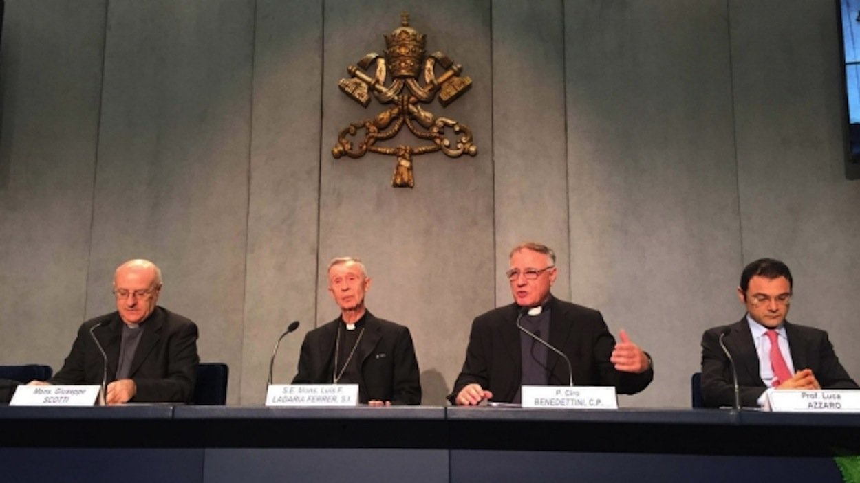 Press conference presenting the Ratzinger Prize 2015