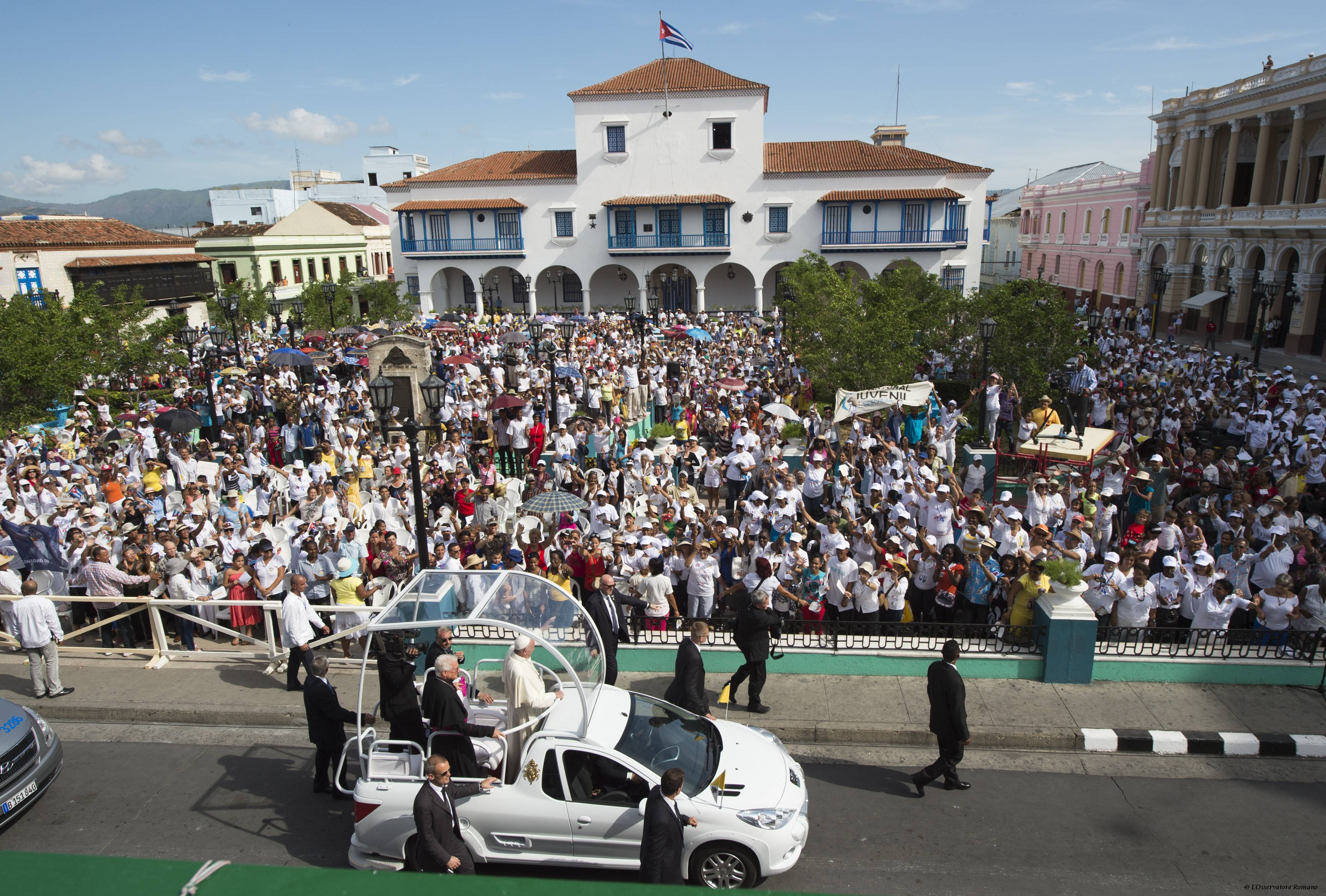 Cuba: Obispos agradecen al Pappa