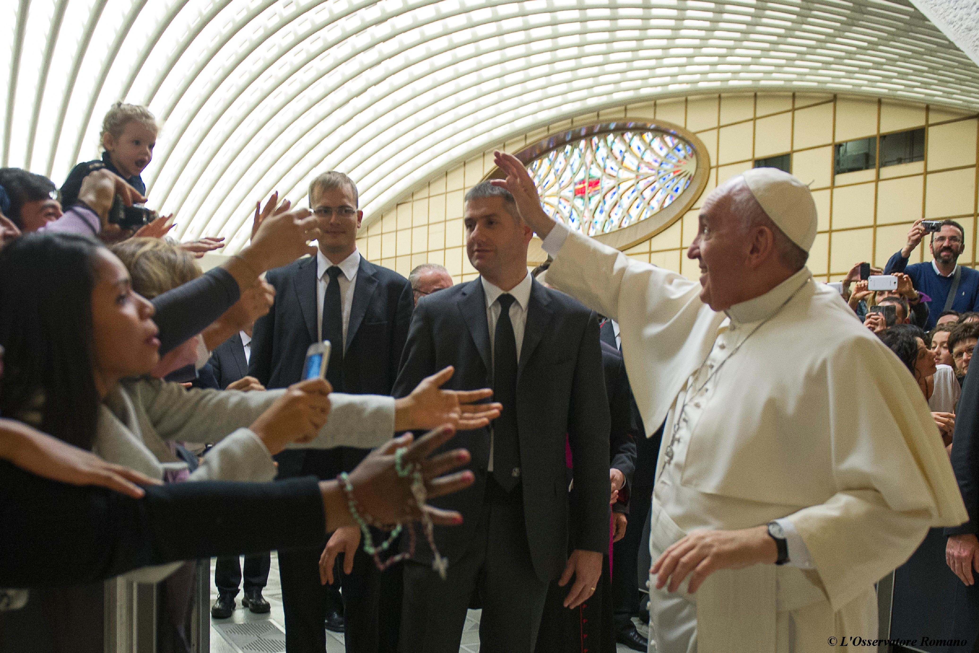 Papal Audience to Christian Union of Italian Business Executives (UCID)