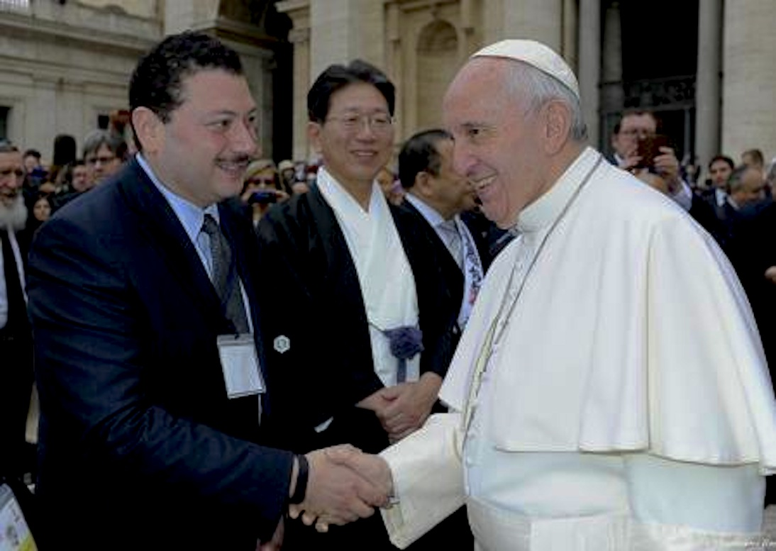 KAICIID Director General Meets His Holiness Pope Francis