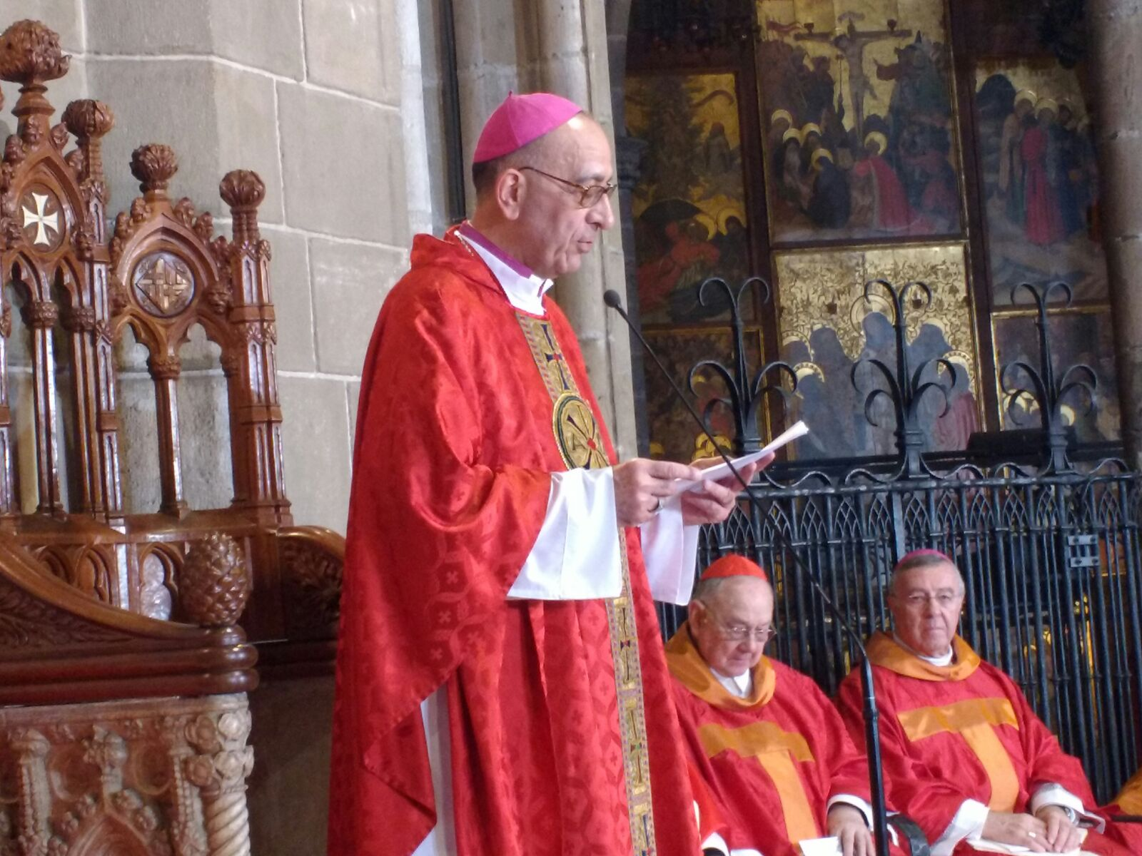 Inauguration of the new Bishop of Barcelona