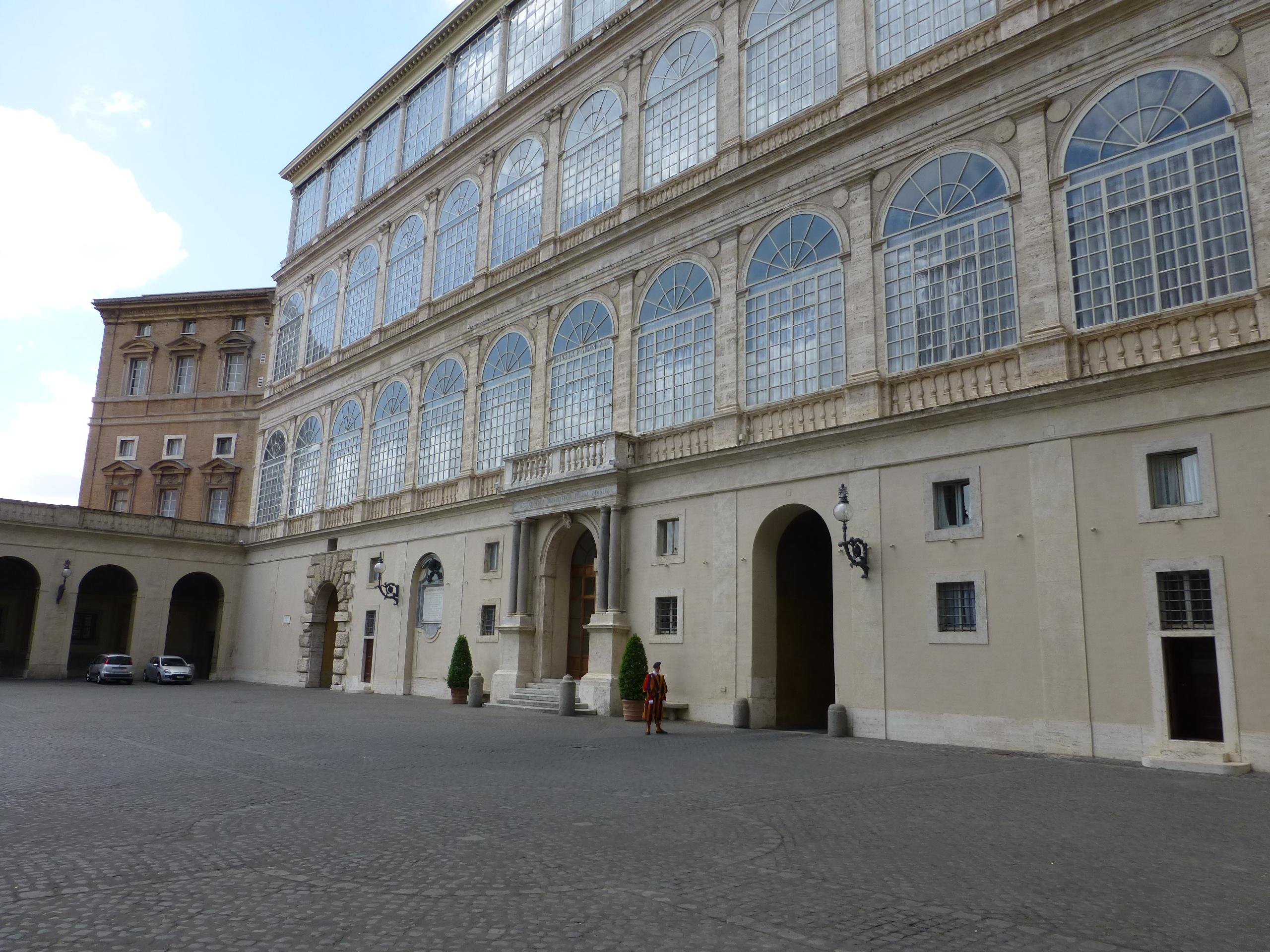 Apostolic Palace Facade