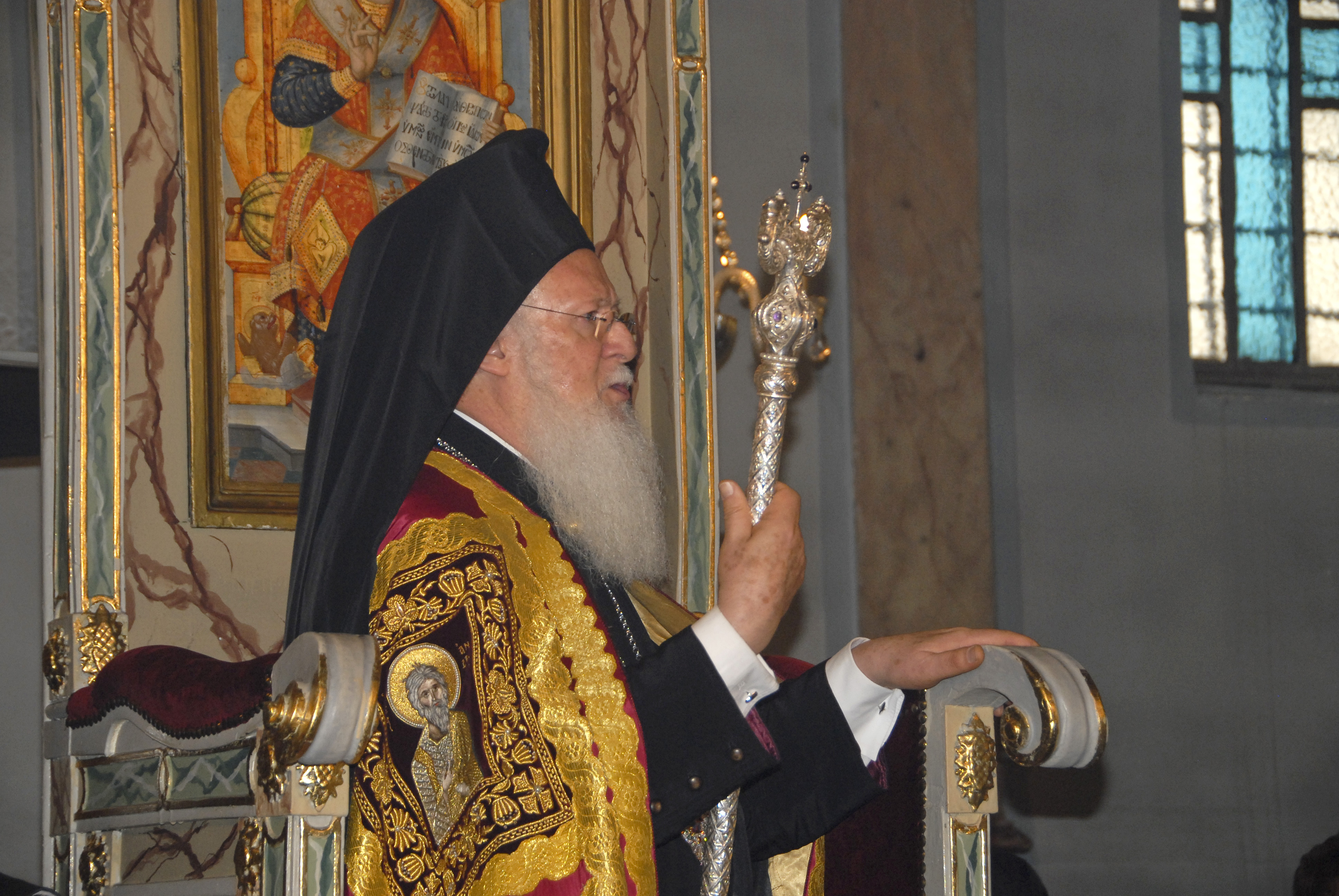 El patriarca Bartolomé I (Foto: Nikolaos Manginas - Patriarcado Ecuménico)