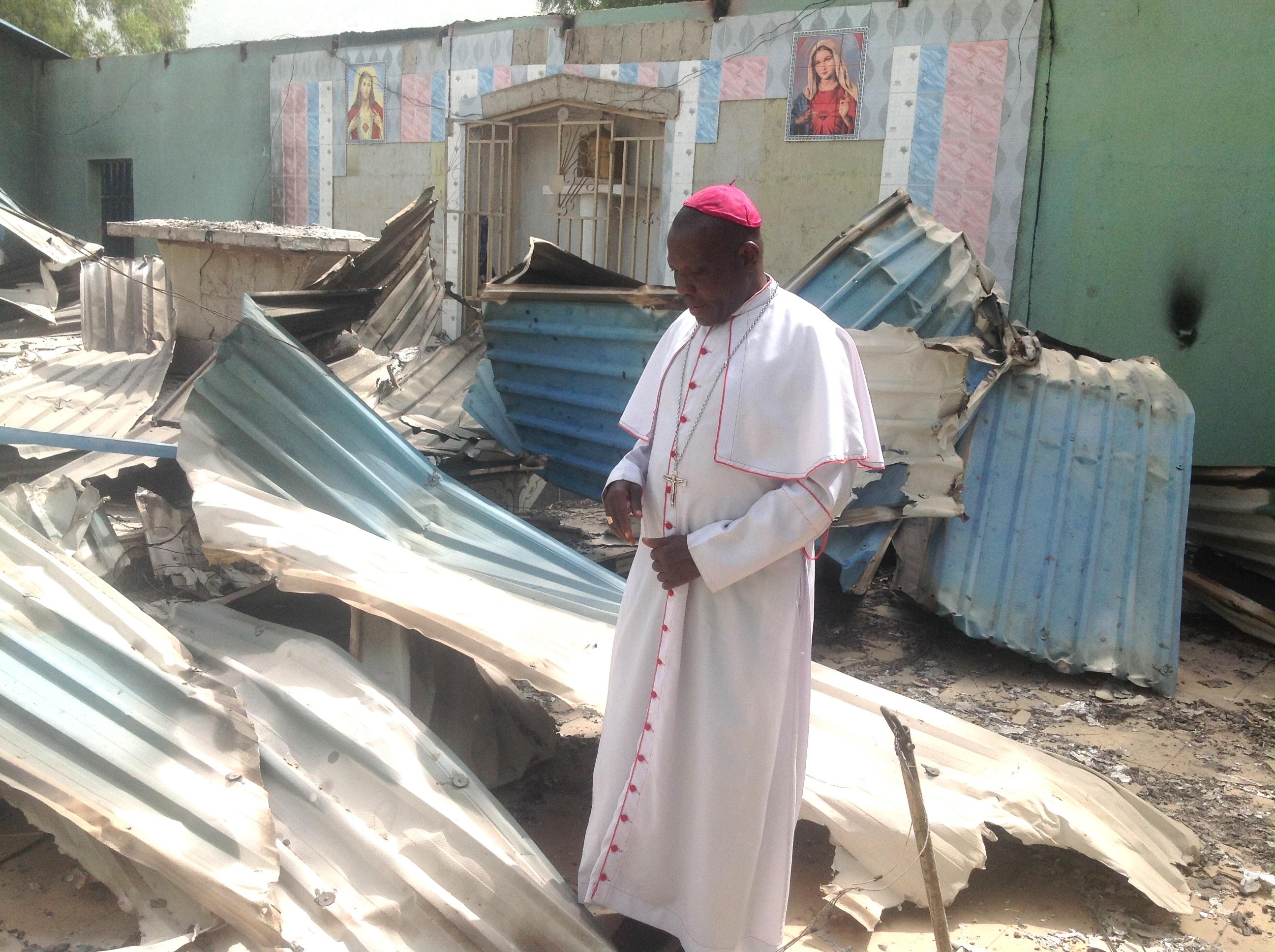 Bishop Oliver Dashe Doeme of the Diocese of Maiduguri