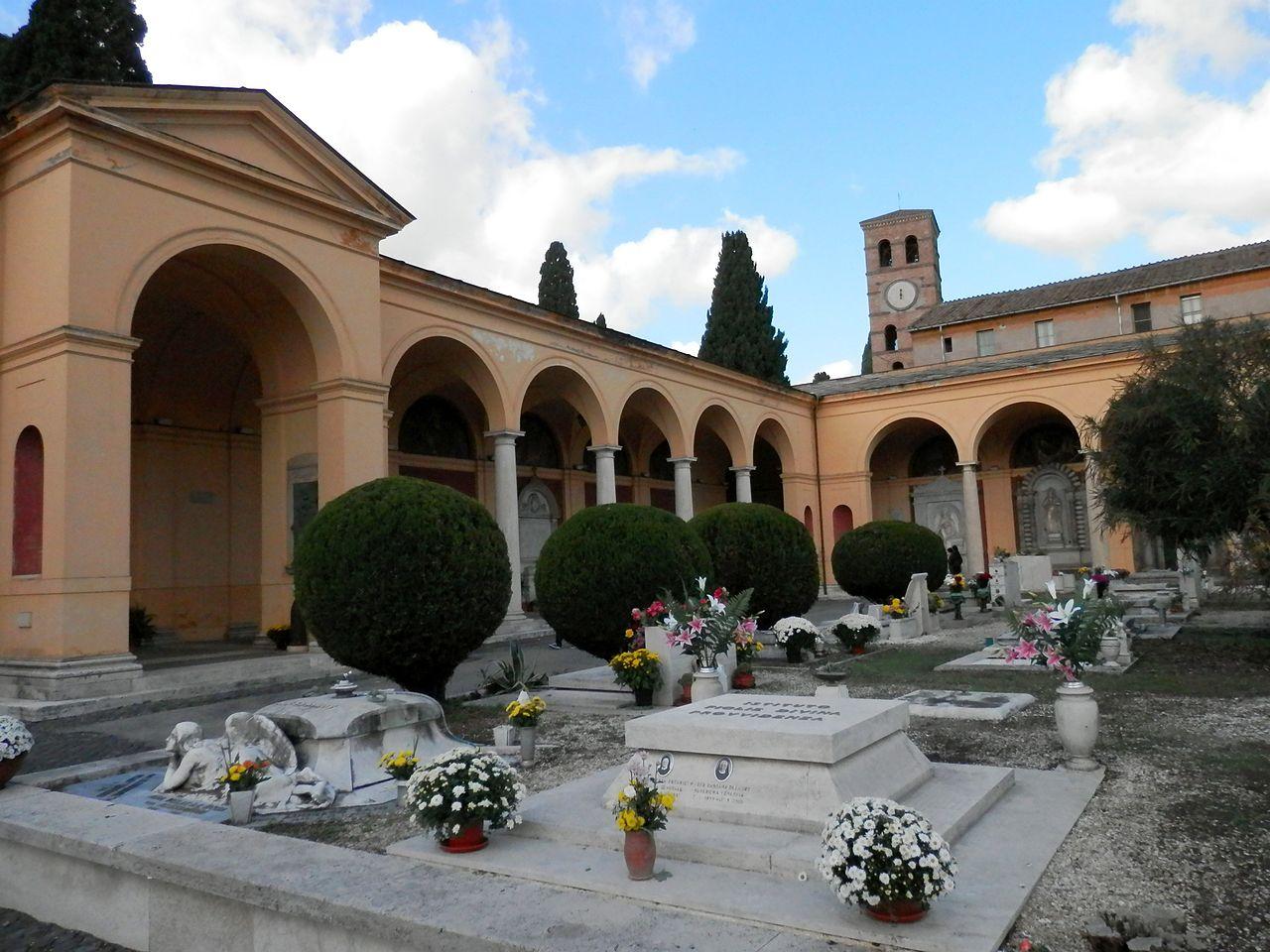 The Monumental Cemetery of Campo Verano