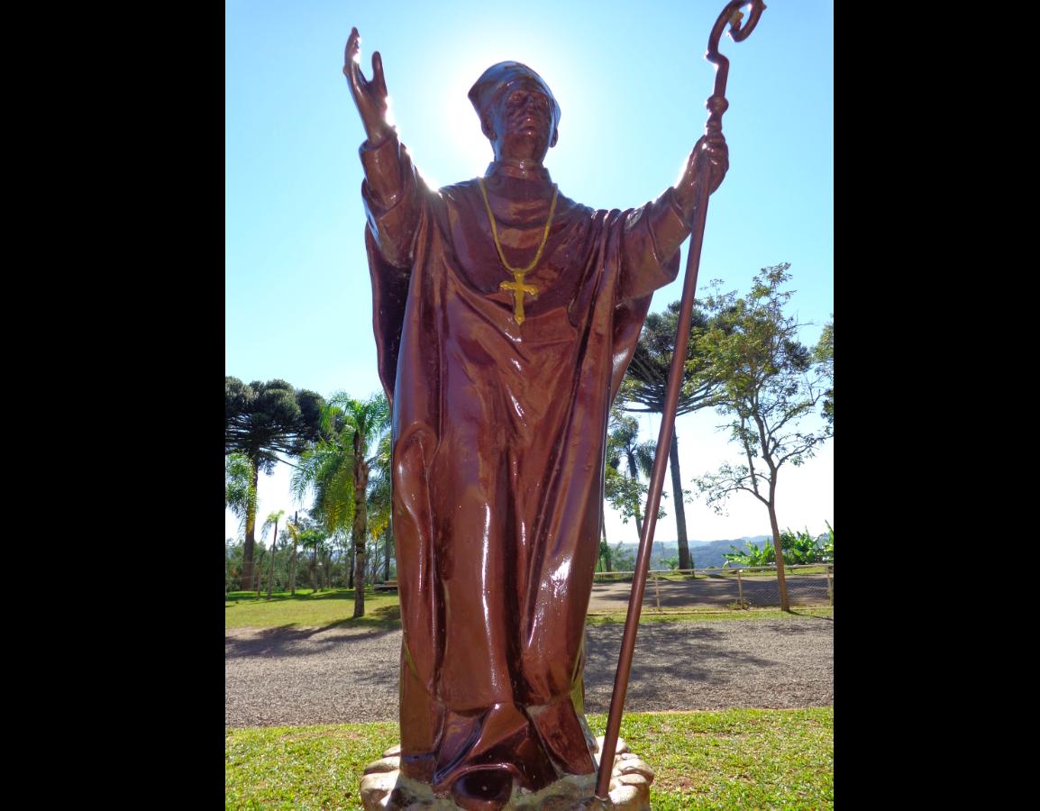 Statue of Blessed John Baptist Scalabrini