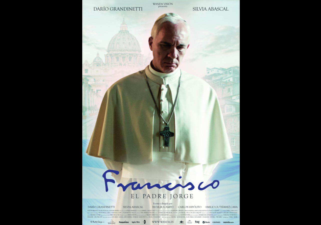 """Movie poster of """"Francis: Father Jorge"""""""