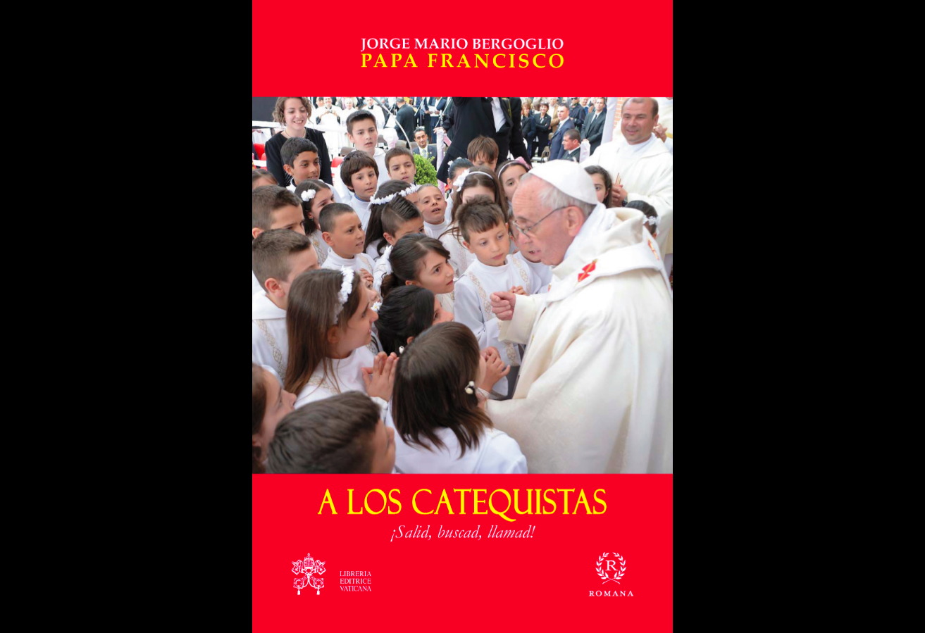 """Book cover of """"A los catequistas"""""""