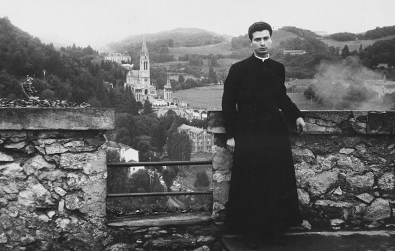 Beato Francisco Spoto en Lourdes