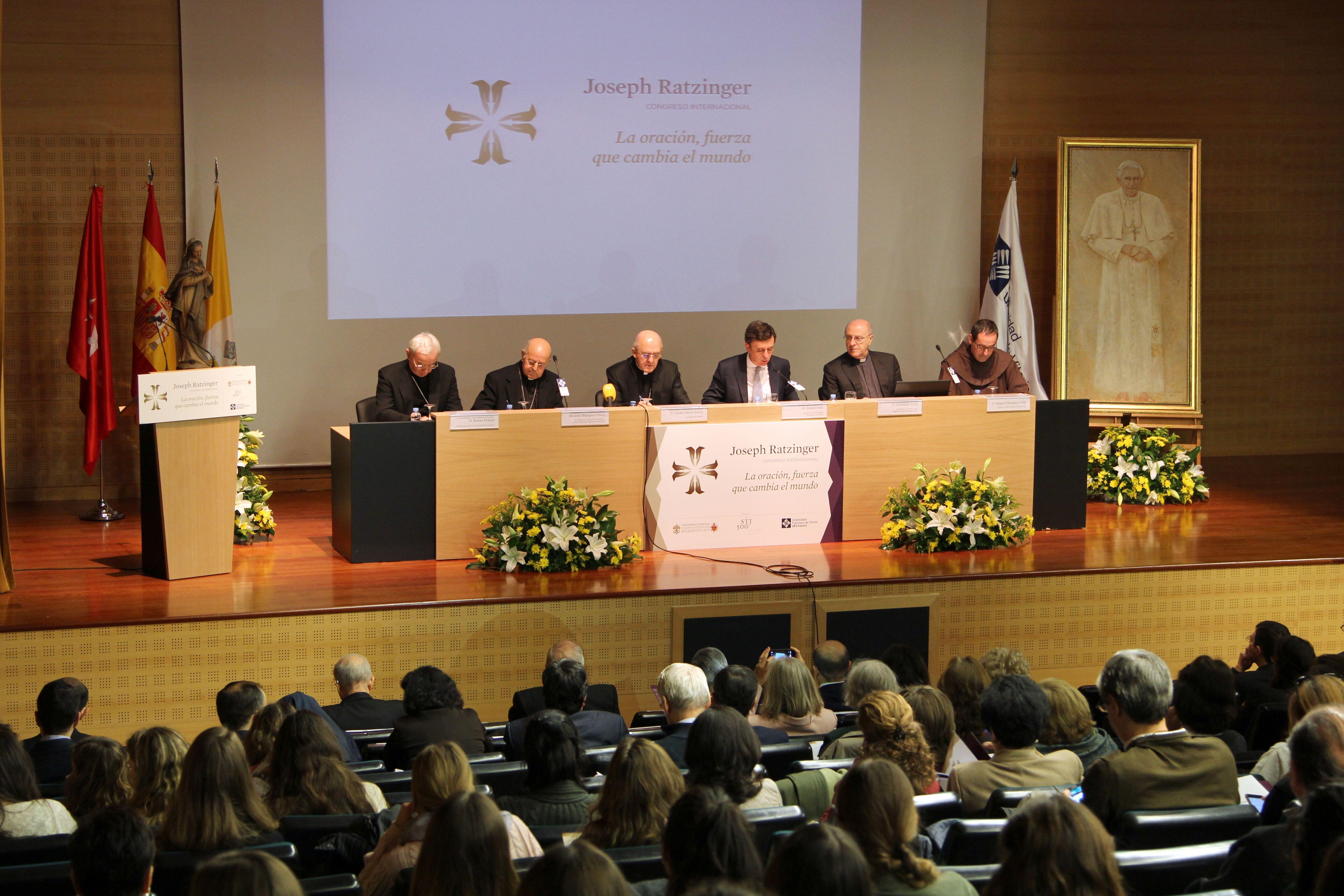 Inauguration of the Fifth International Congress organized by the Joseph Ratzinger – Benedict XVI Vatican Foundation