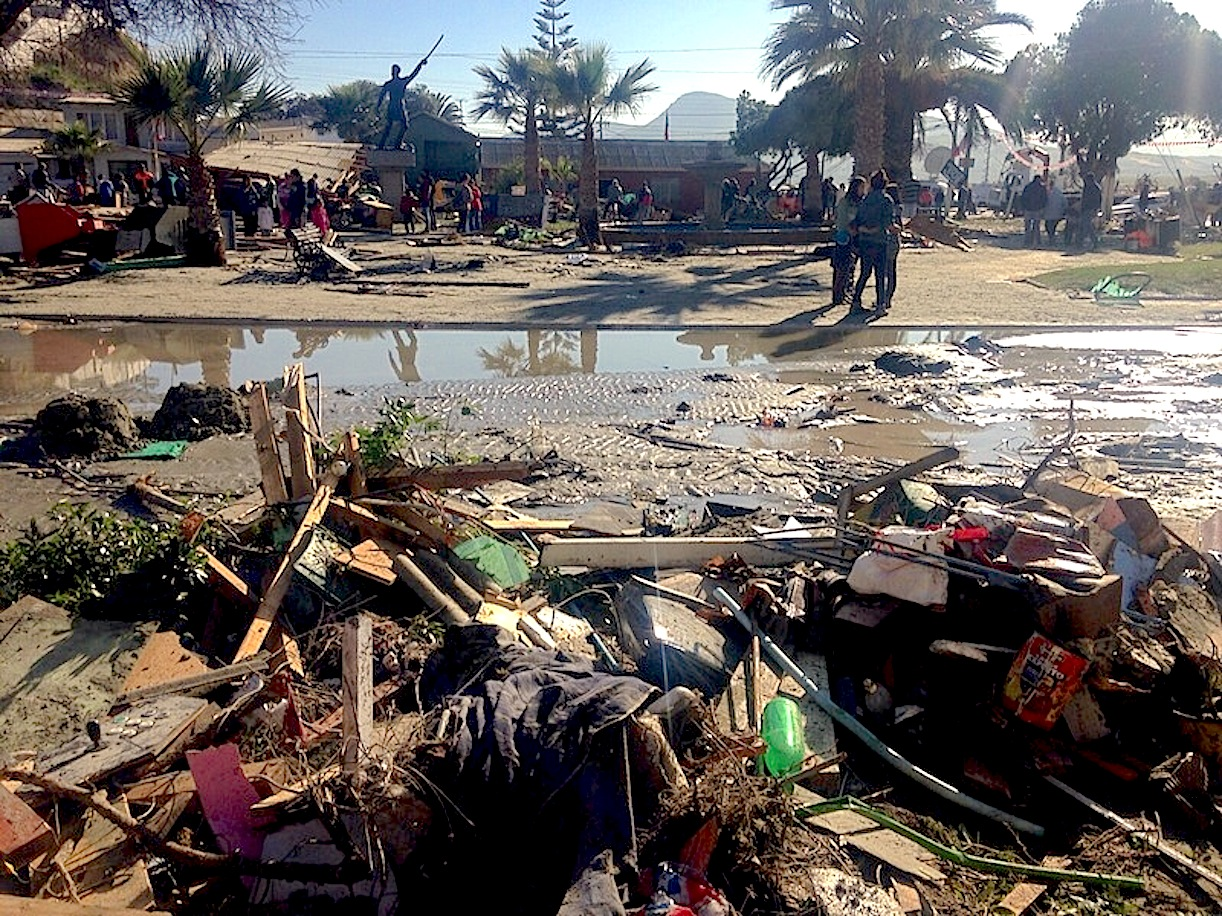 Caritas campaign for earthquake victims in Chile
