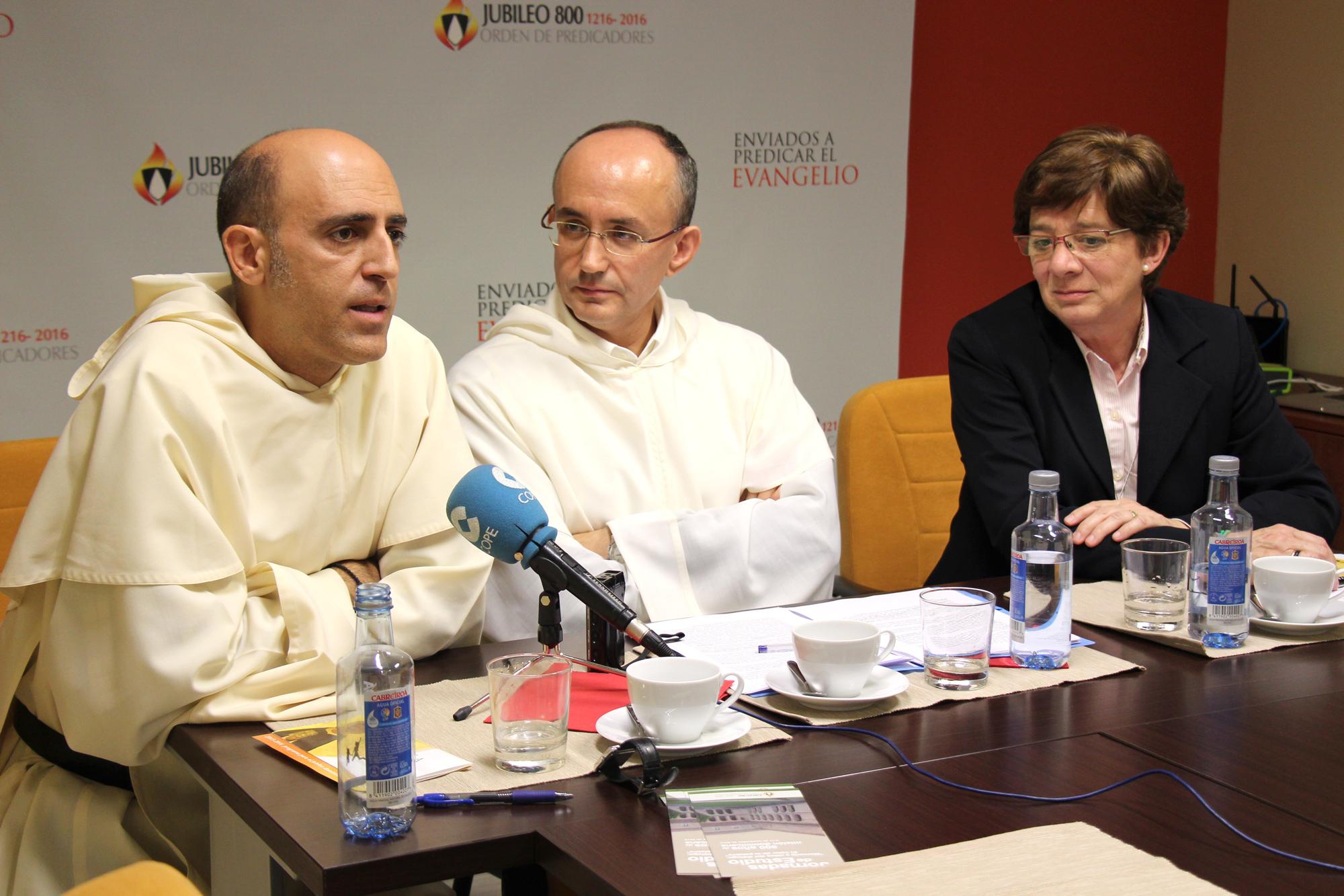 Presentation of the Dominican Jubilee in Spain