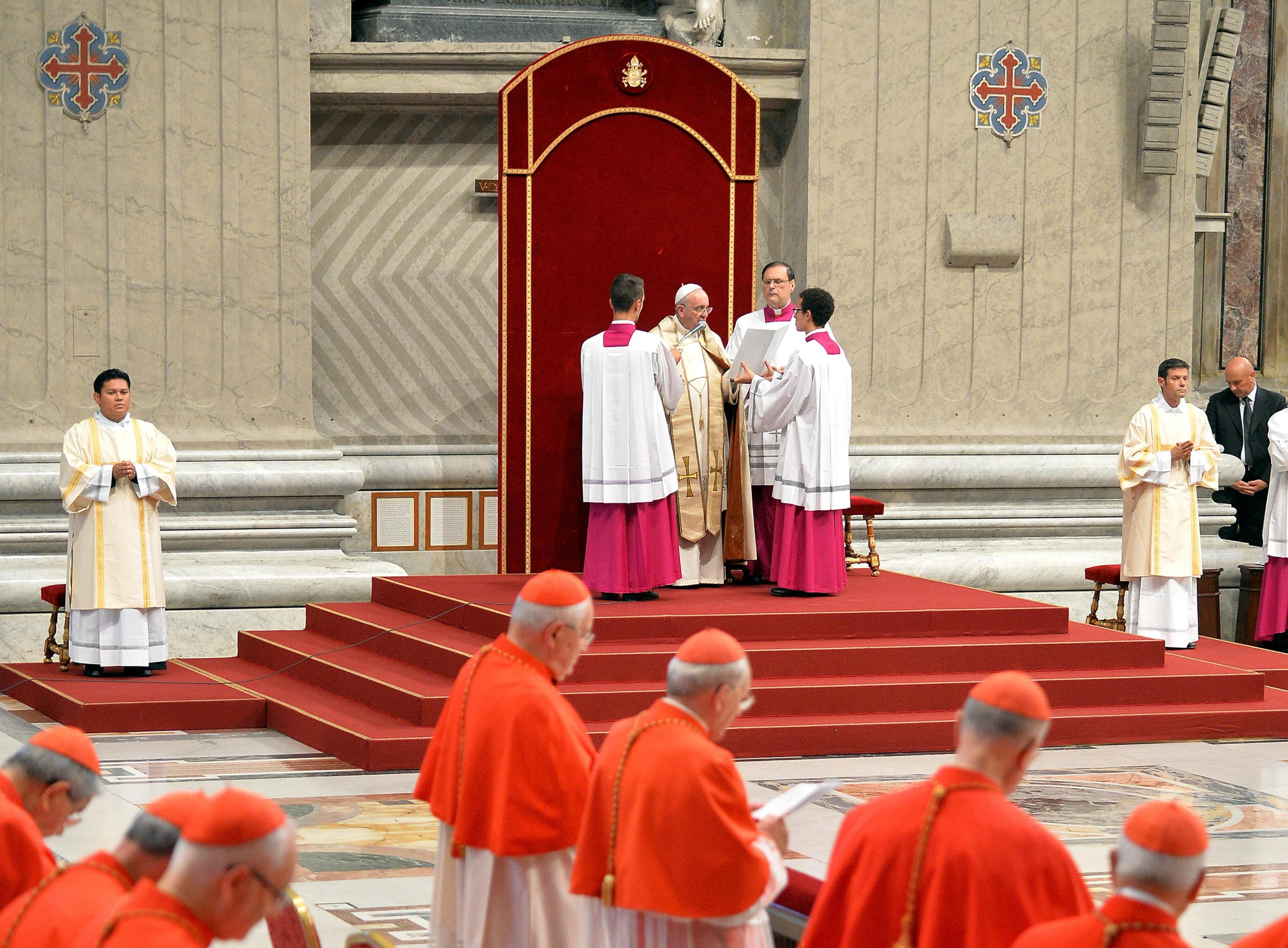 Pope Francis during the first World Day of Prayer for the care of creation