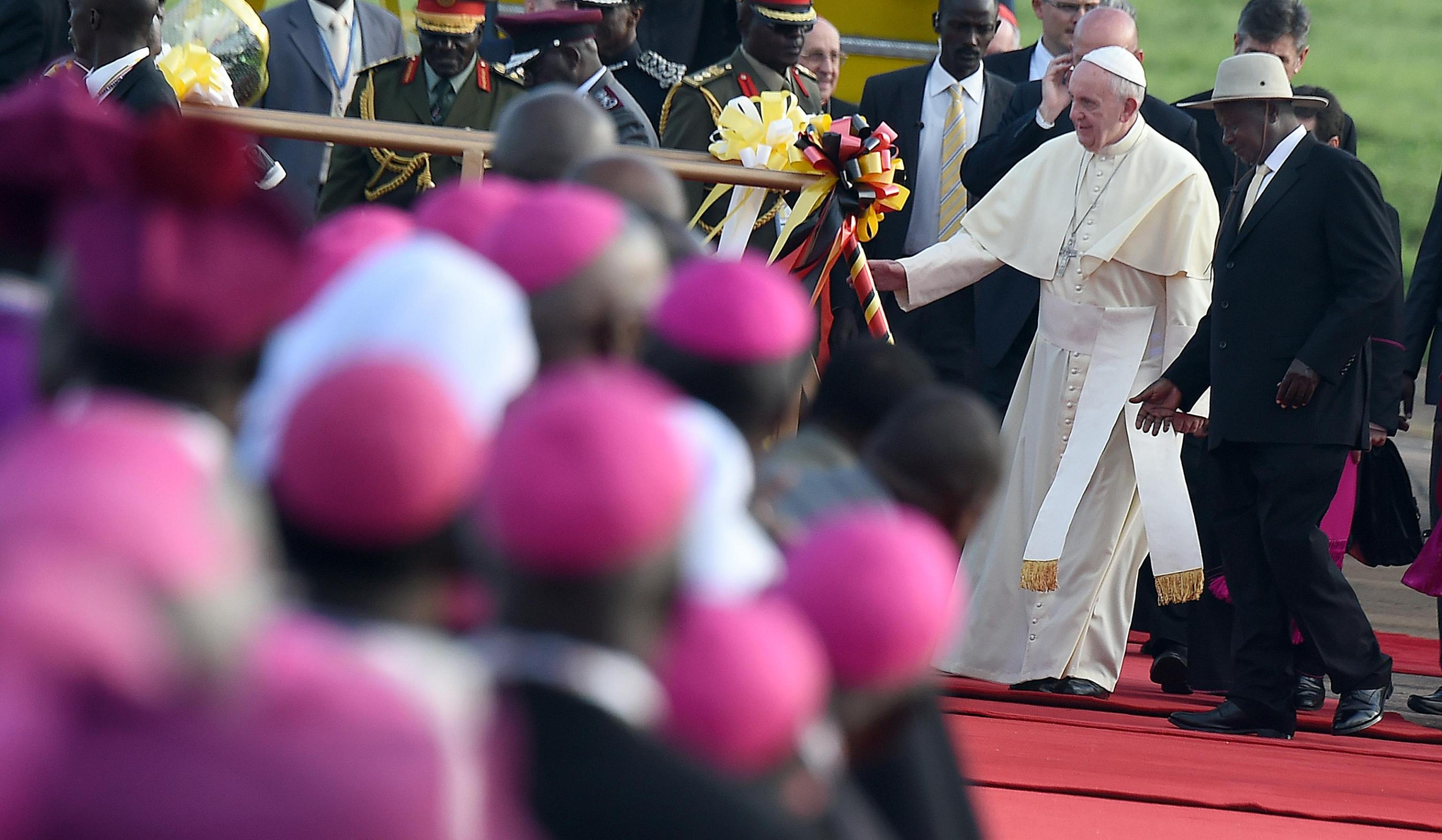 Visita del Papa a Uganda © ANSA