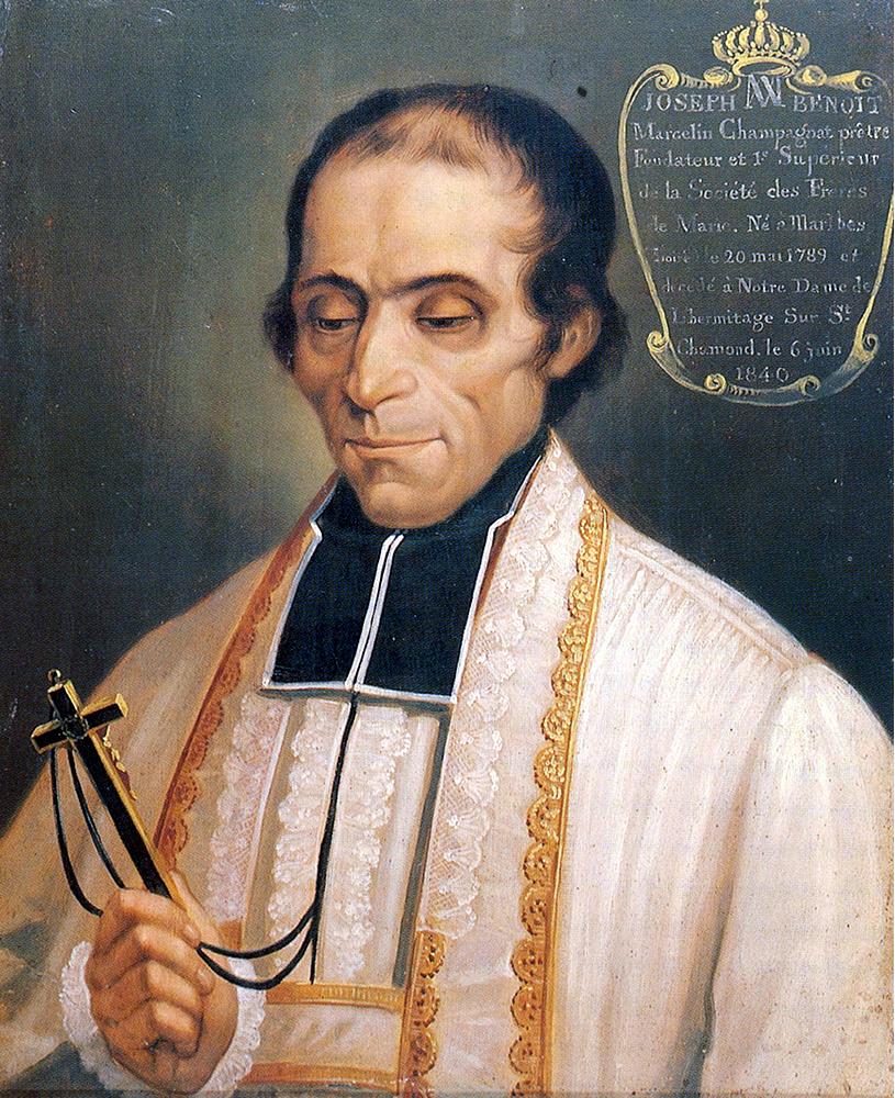 Retrato oficial de Marcellino Champagnat