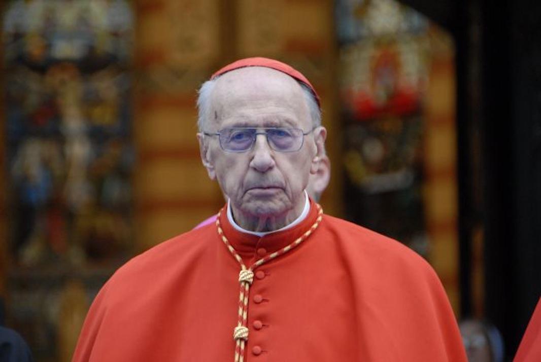 Cardinal Roger Etchegaray in Sarajevo