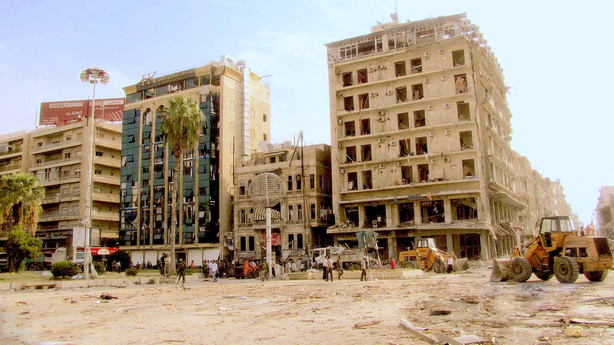 La ciudad de Alepo arrasada por los combates. (foto Wikicommons)
