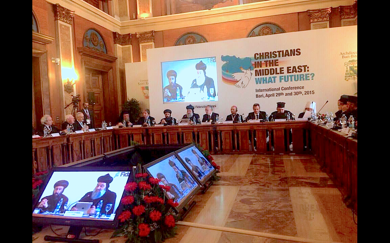 Inter-Christian Summit in Bari