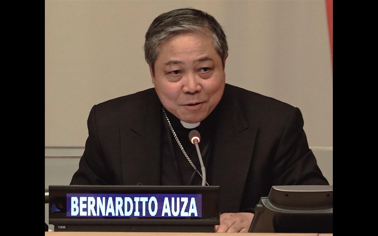 Mons. Bernardito Auza, Observador Permanente en las Naciones Unidas